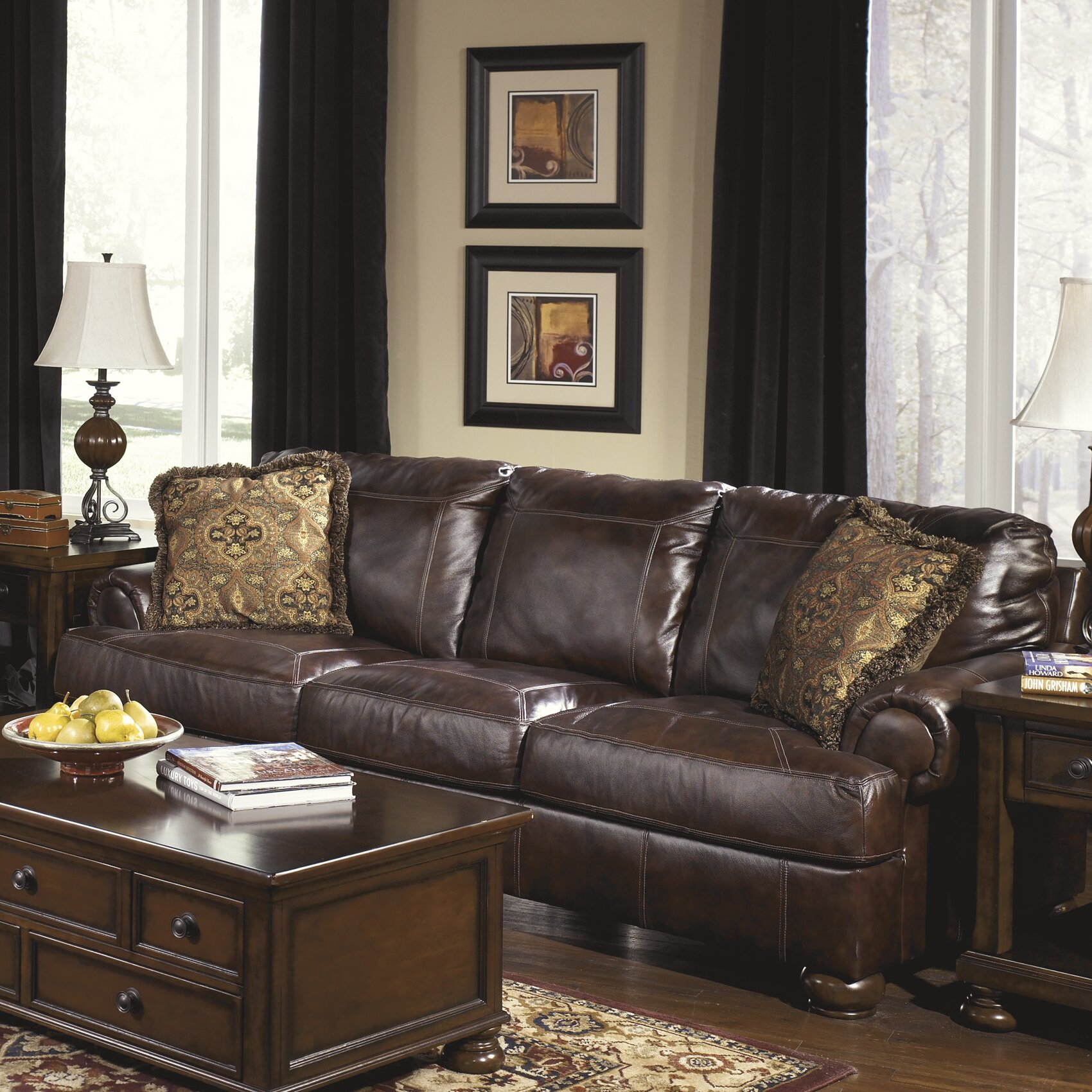 Ashley Signature Collection: Signature Design By Ashley Heath Living Room Collection