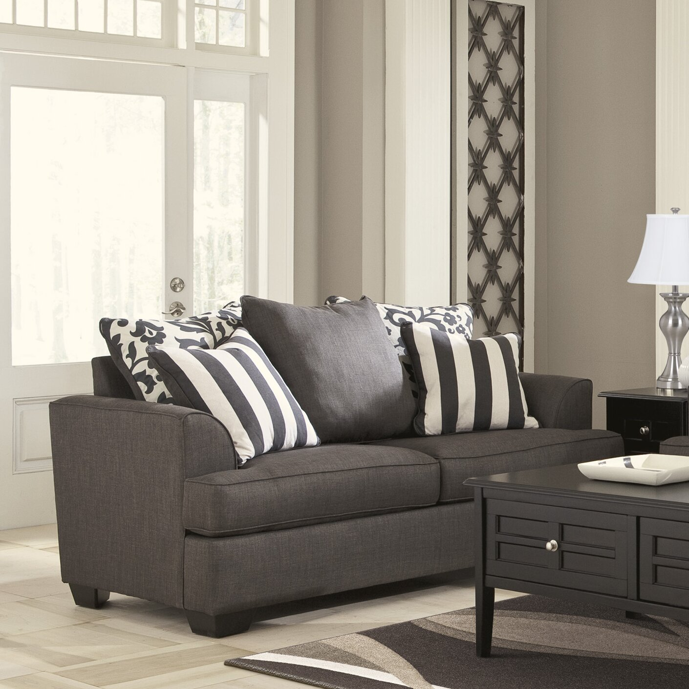 Ashley Signature Collection: Signature Design By Ashley Hobson Living Room Collection