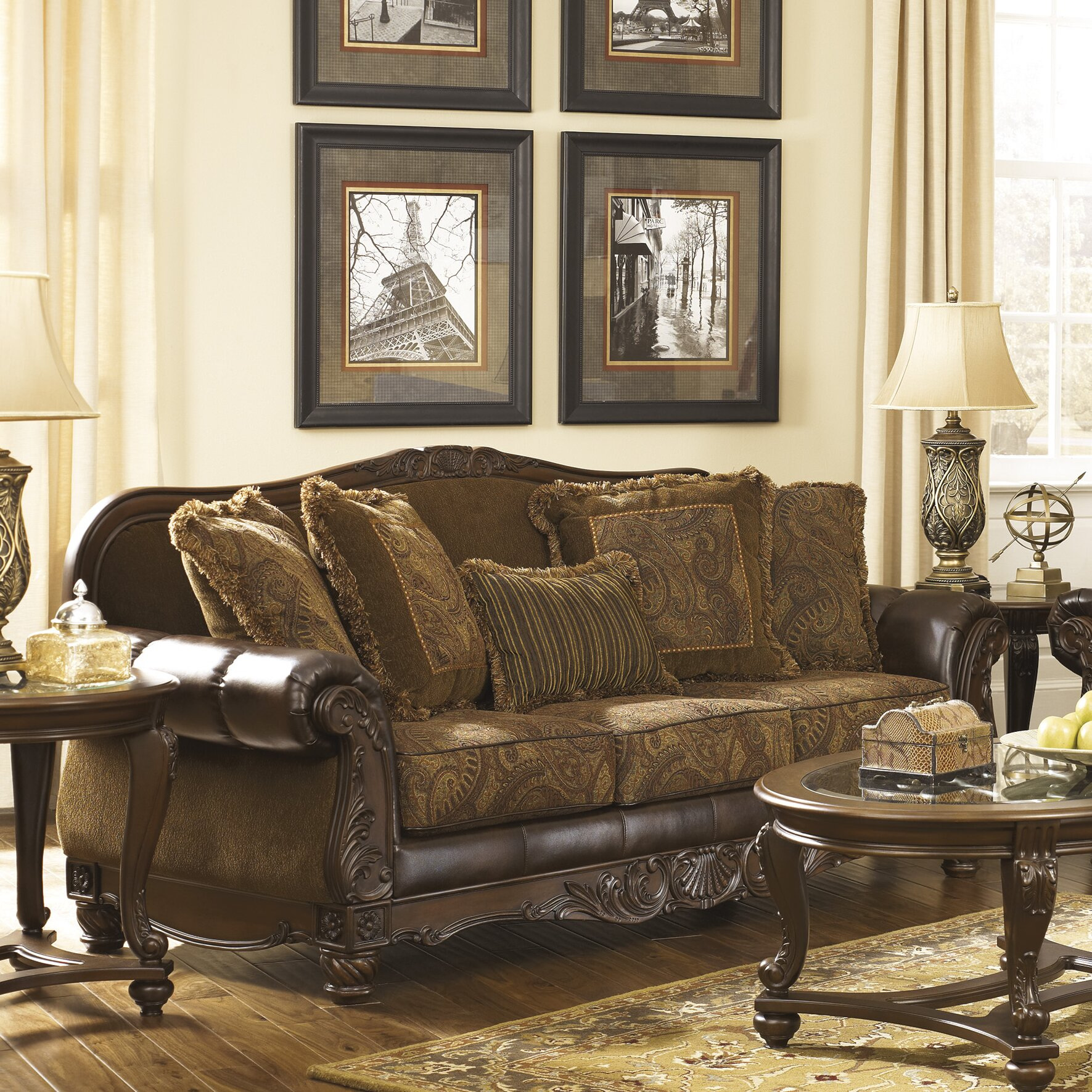 Ashley Signature Collection: Signature Design By Ashley Newbern Living Room Collection