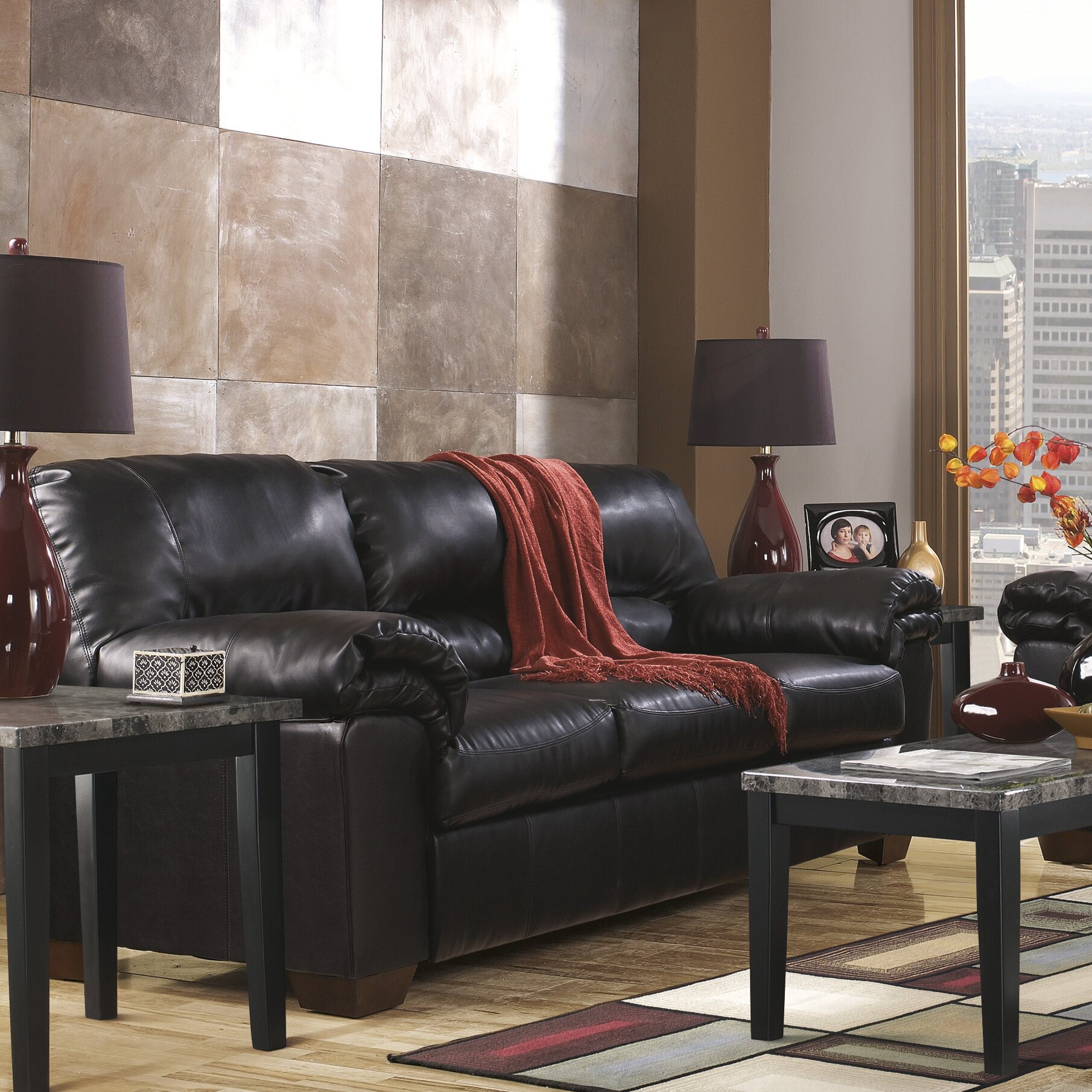 Ashley Signature Collection: Signature Design By Ashley Rosa Living Room Collection