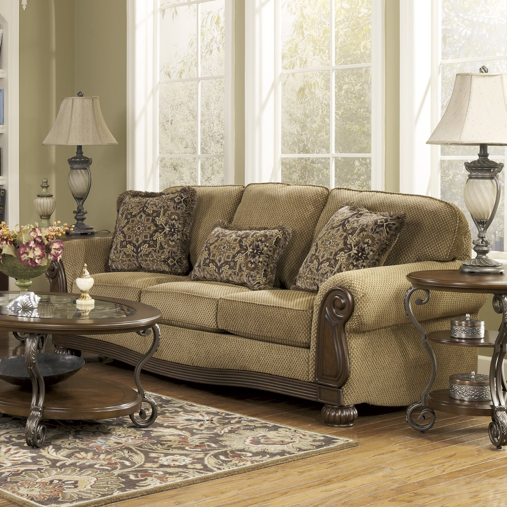Signature Design By Ashley Taylor Sofa Amp Reviews Wayfair