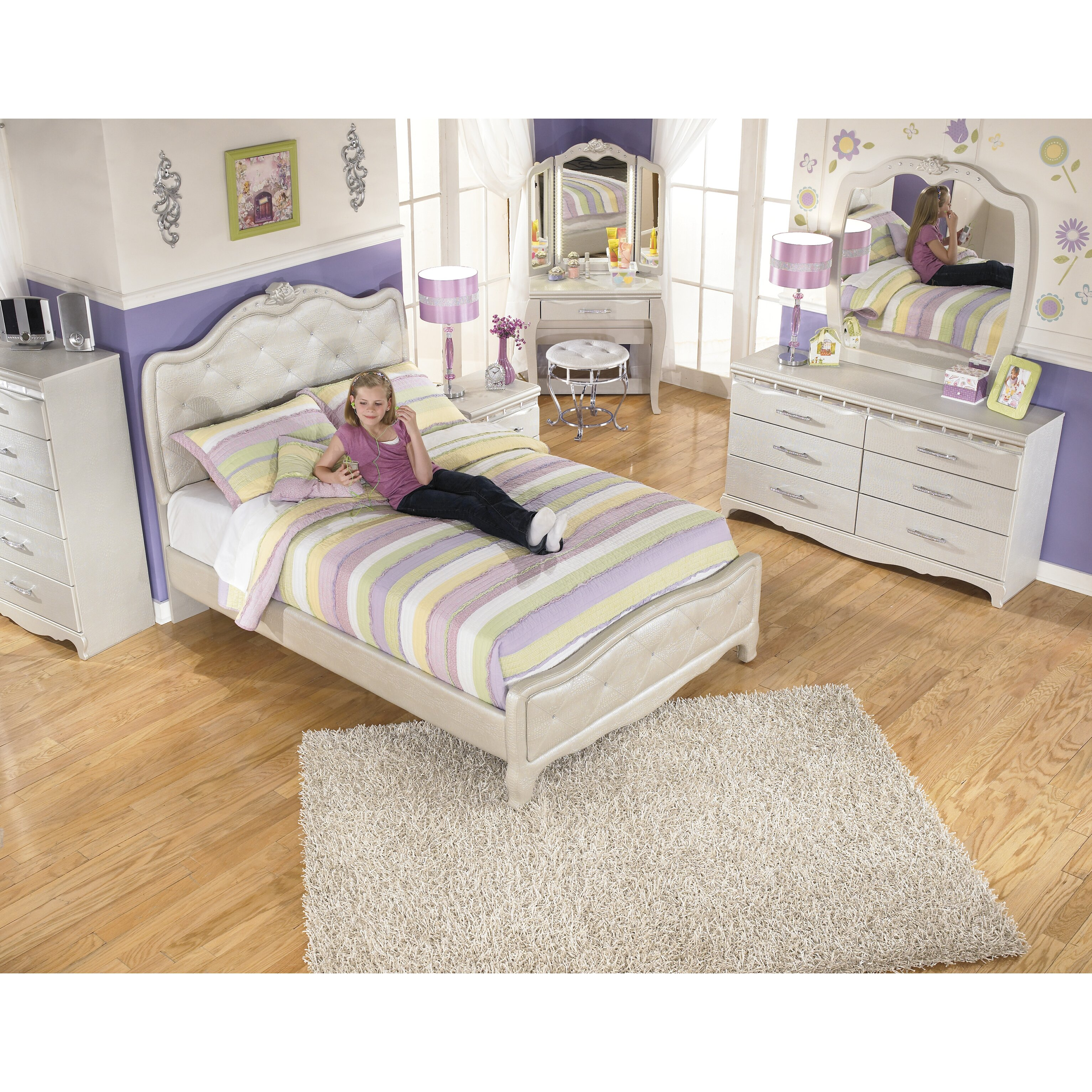 Signature Design By Ashley Zarollina Panel Bed Reviews