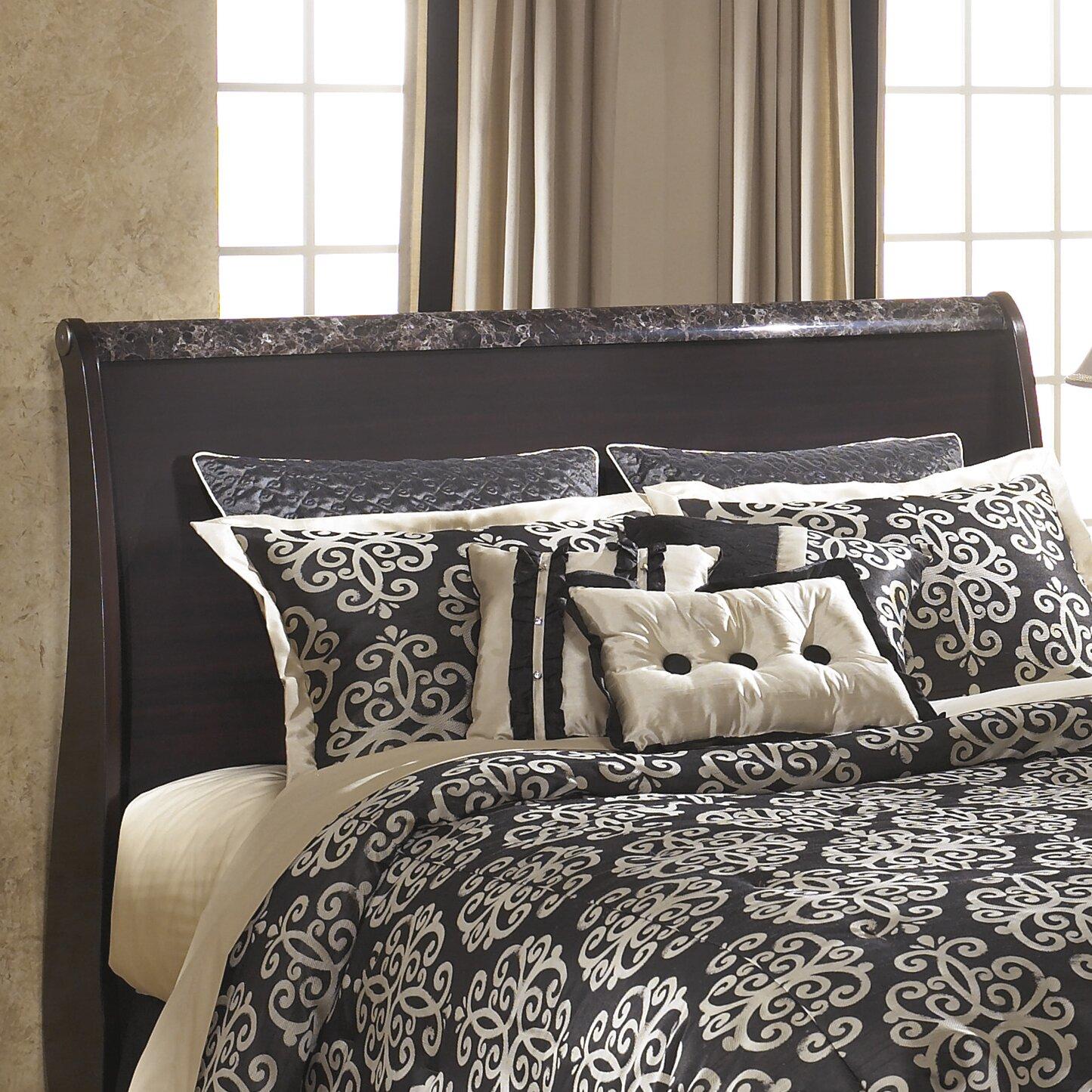 Signature design by ashley esmarelda sleigh customizable - Ashley bedroom furniture reviews ...