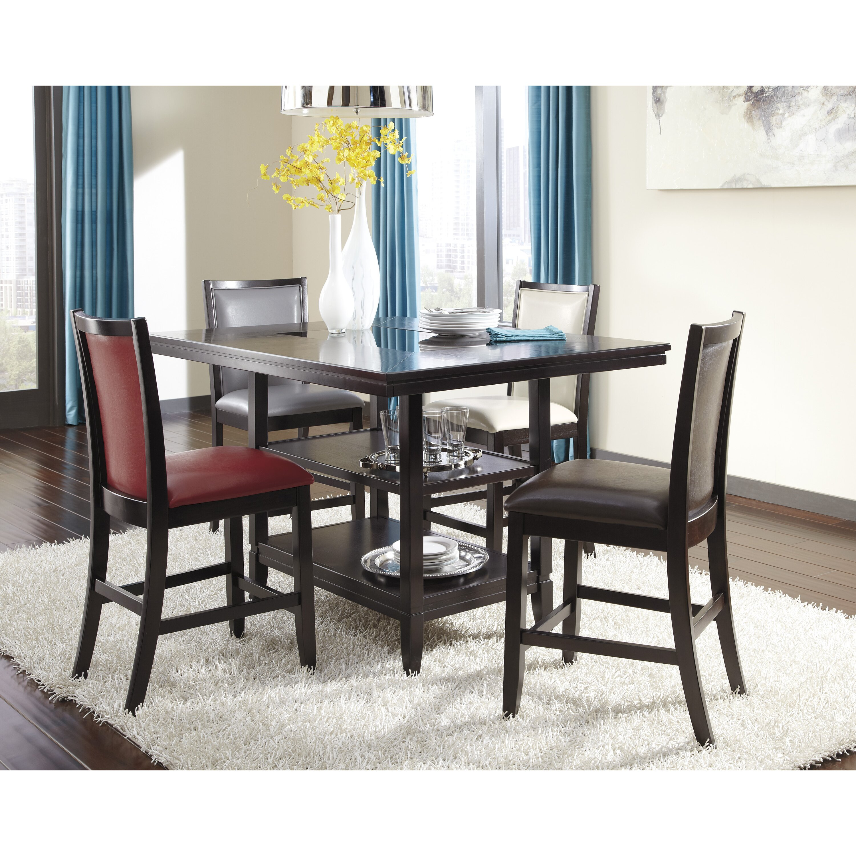 Ashley Furniture Dining Room Table: Signature Design By Ashley Trishelle Counter Height Dining