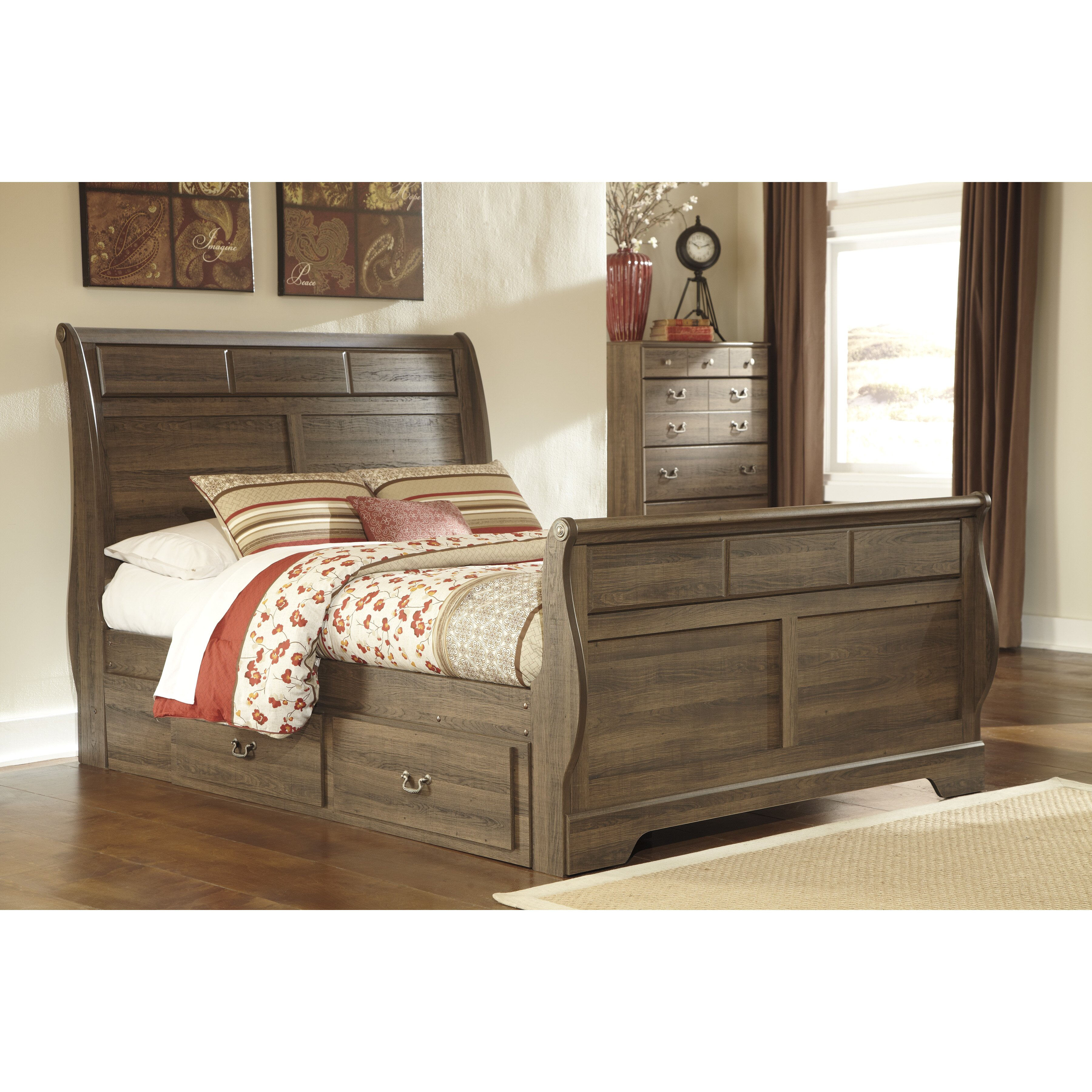 Signature Design By Ashley Allymore Sleigh Customizable Bedroom Set Reviews