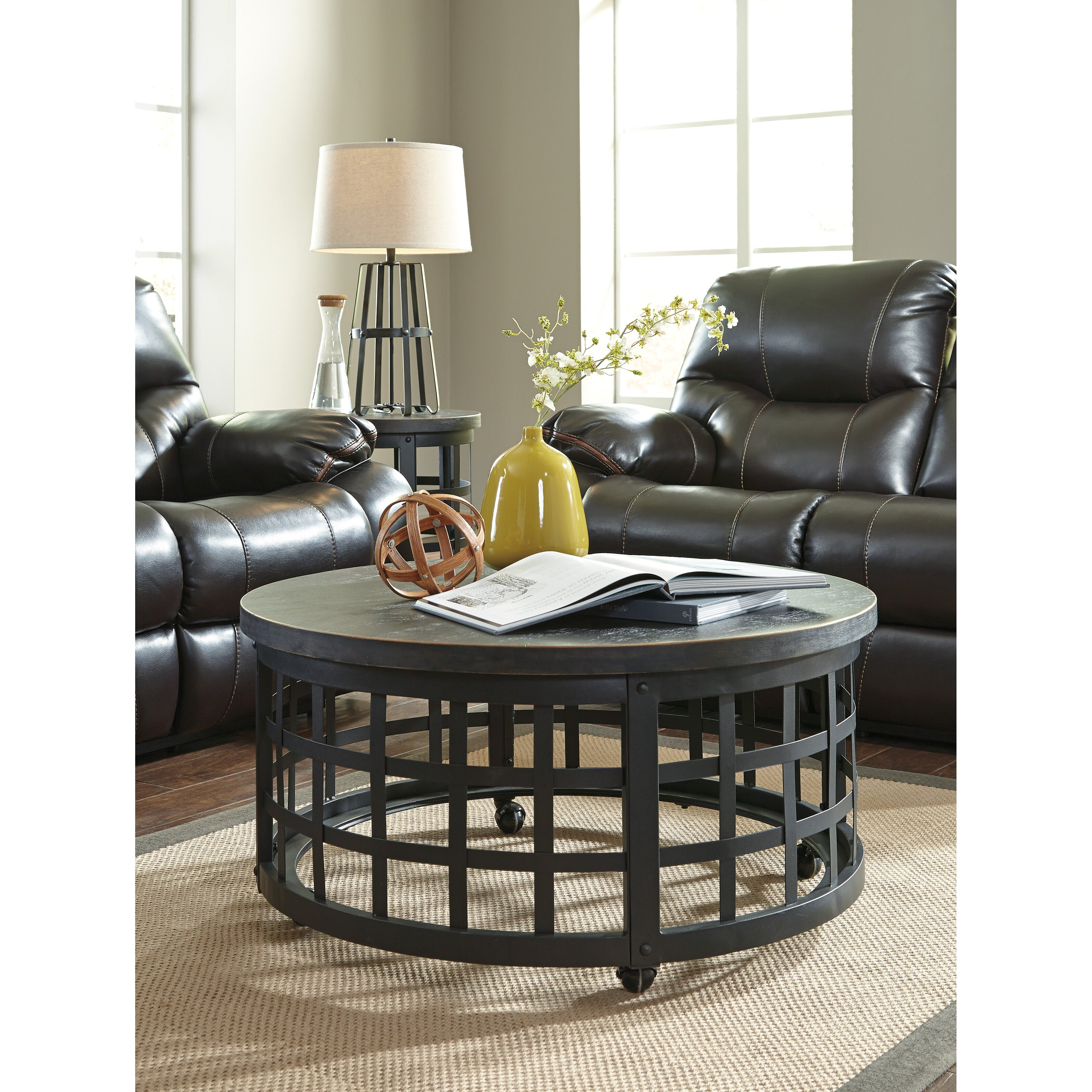 Ashley Furniture Table: Signature Design By Ashley Marimon Coffee Table & Reviews