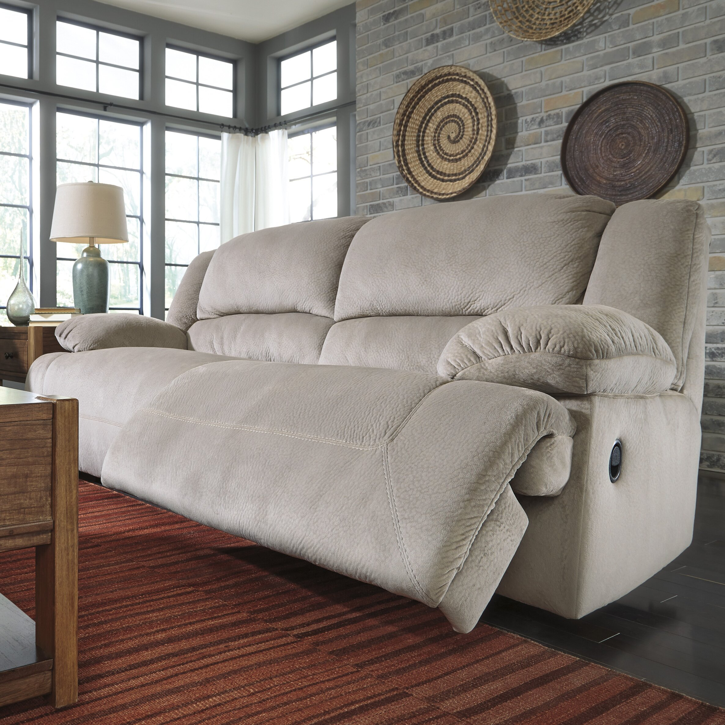 Signature Design By Ashley Tolette 2 Seat Reclining Sofa Reviews Wayfair