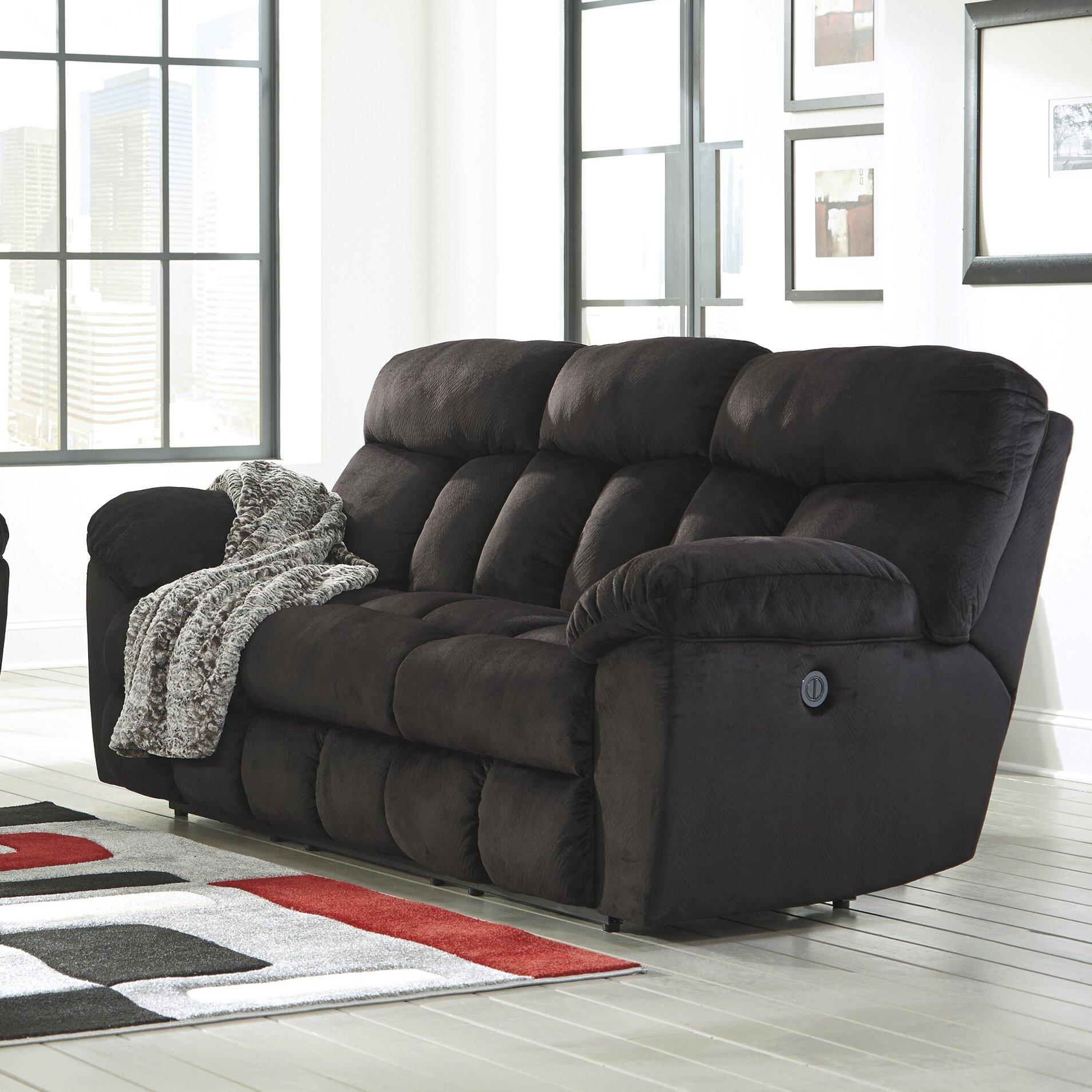 Signature Design By Ashley Saul Reclining Sofa Reviews