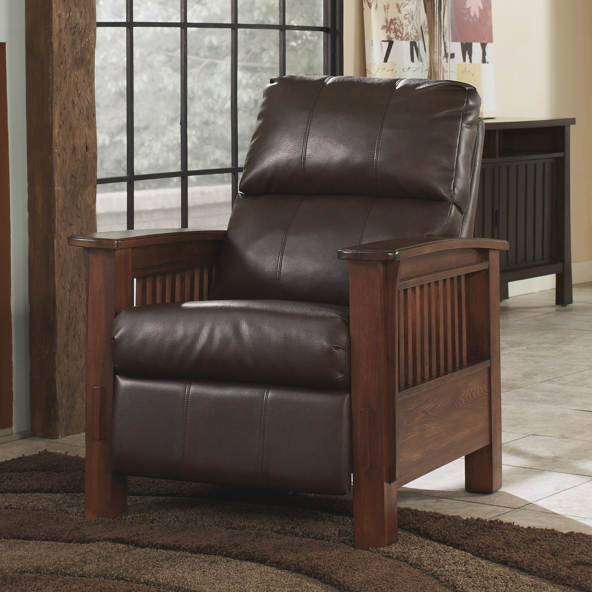 Ashley Furniture Recliners: Signature Design By Ashley Caro Recliner & Reviews