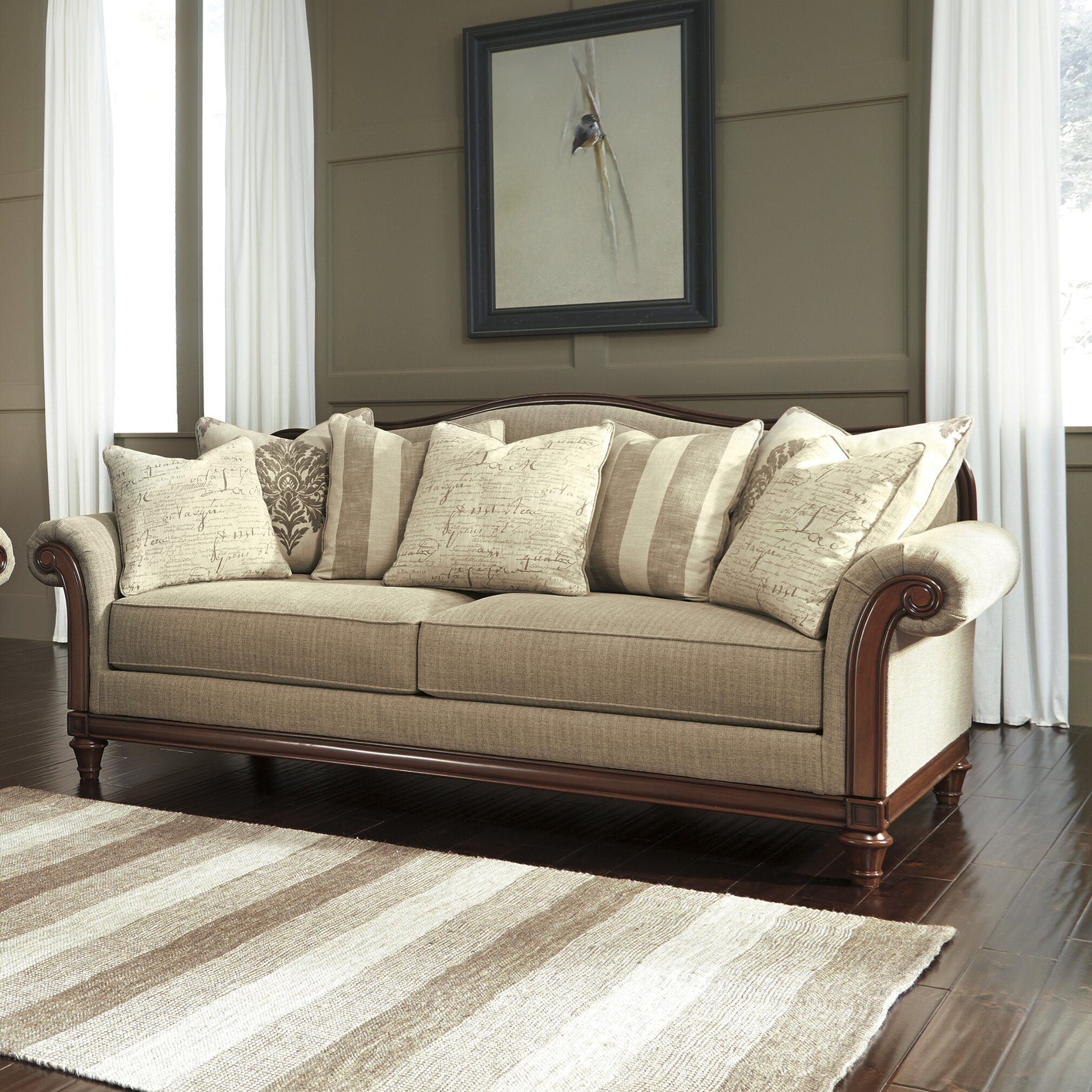 Ashley Signature Collection: Signature Design By Ashley Berwyn Living Room Collection