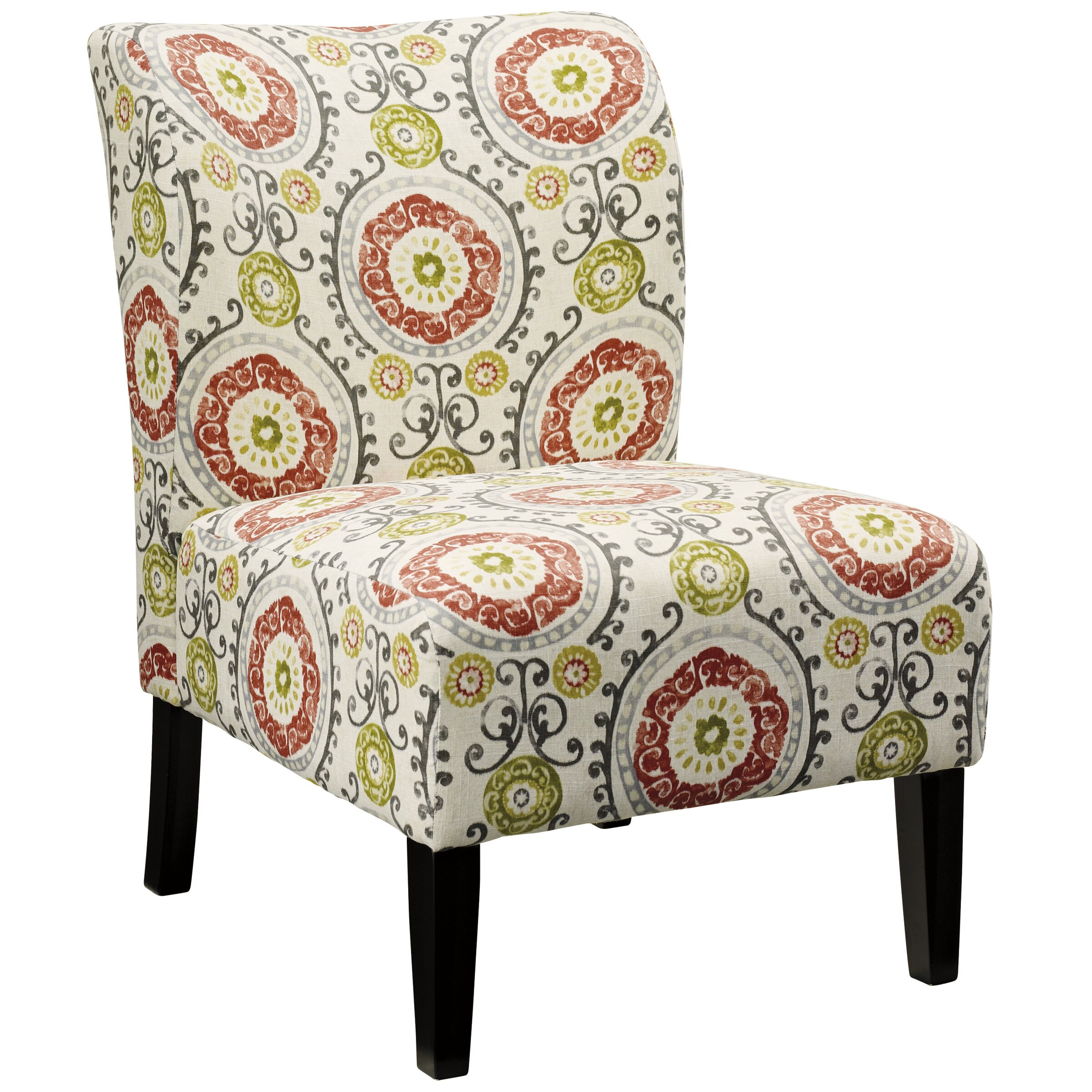 Signature Design By Ashley Honnally Floral Side Chair