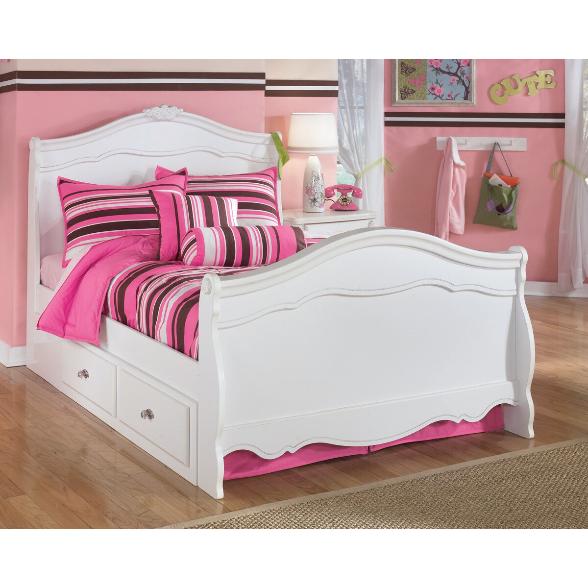 Signature Design By Ashley Lydia Panel Customizable Bedroom Set Reviews