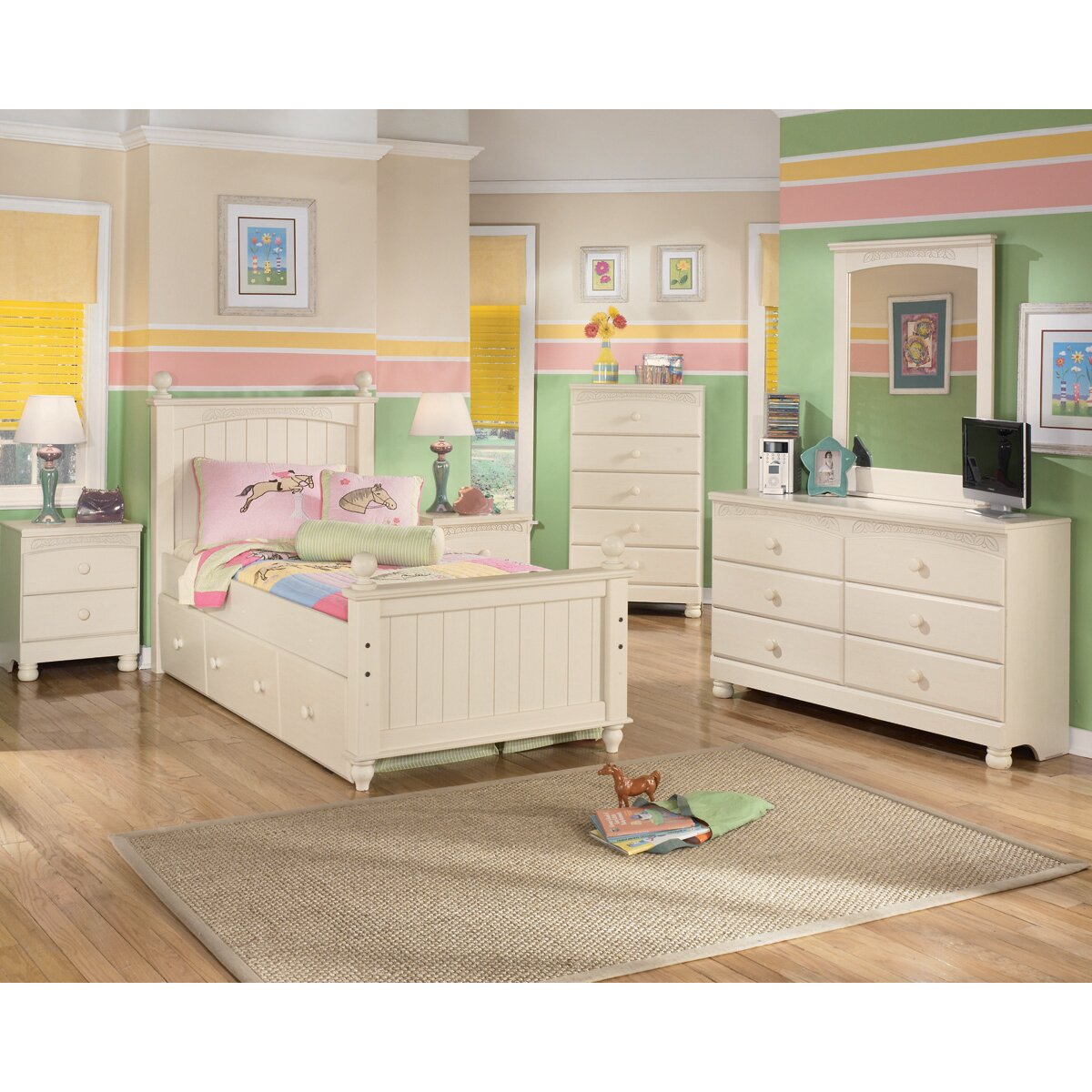 Signature design by ashley cottage retreat platform customizable bedroom set reviews wayfair Cottage retreat collection bedroom furniture