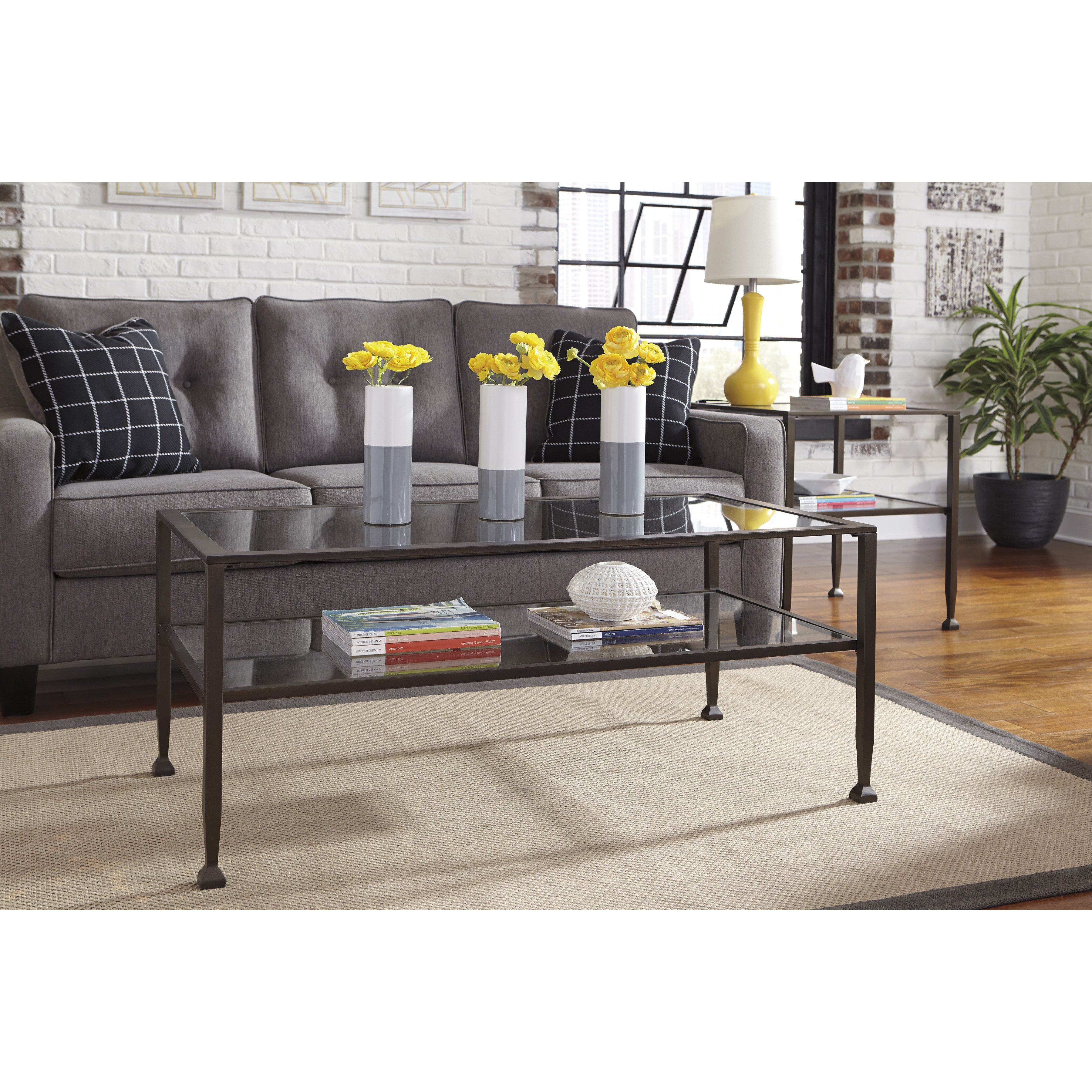 Signature Design by Ashley Tivion Coffee Table & Reviews