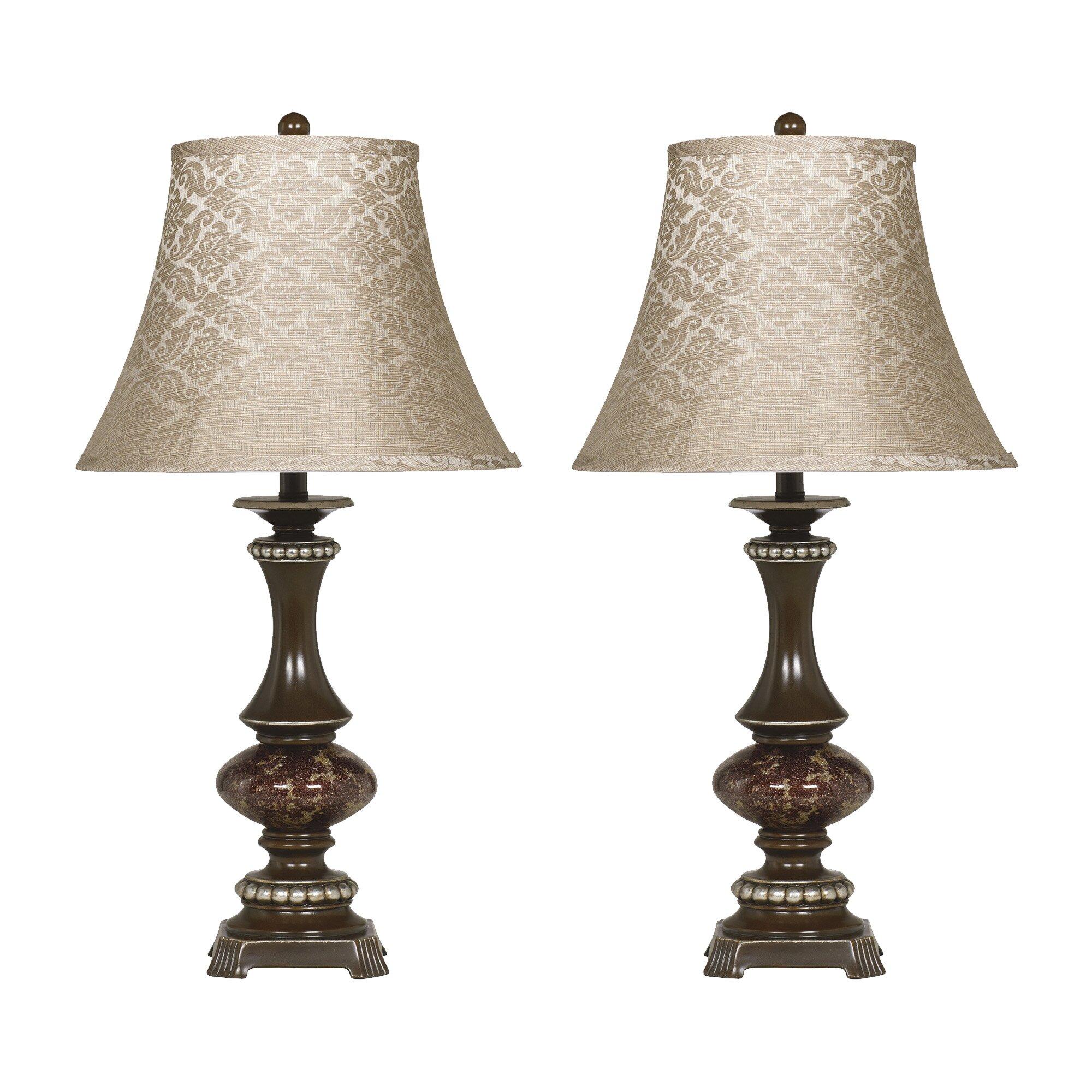 lighting lamps table lamps signature design by ashley sku gnt4974. Black Bedroom Furniture Sets. Home Design Ideas