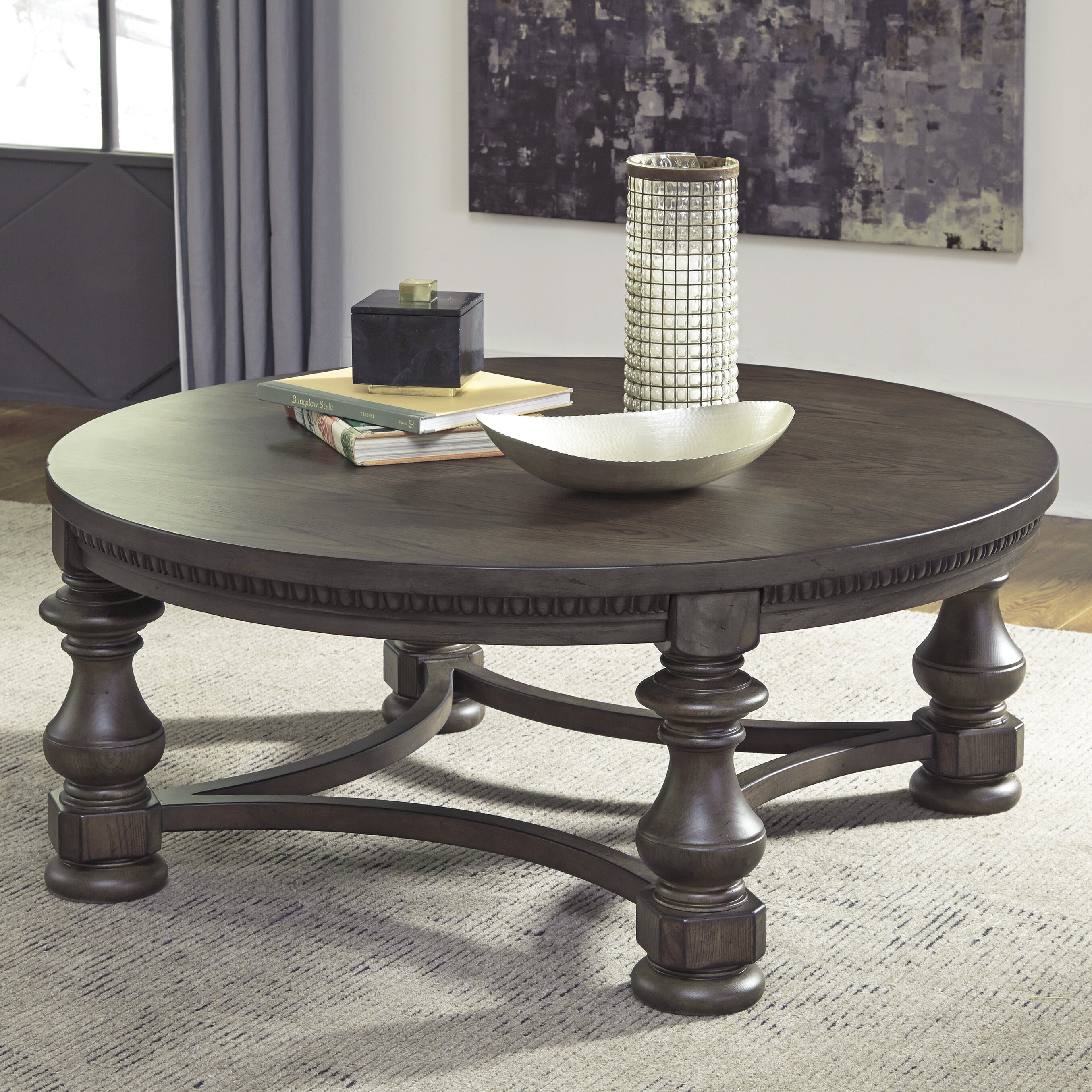 Signature Design By Ashley Larrenton Coffee Table Reviews Wayfair
