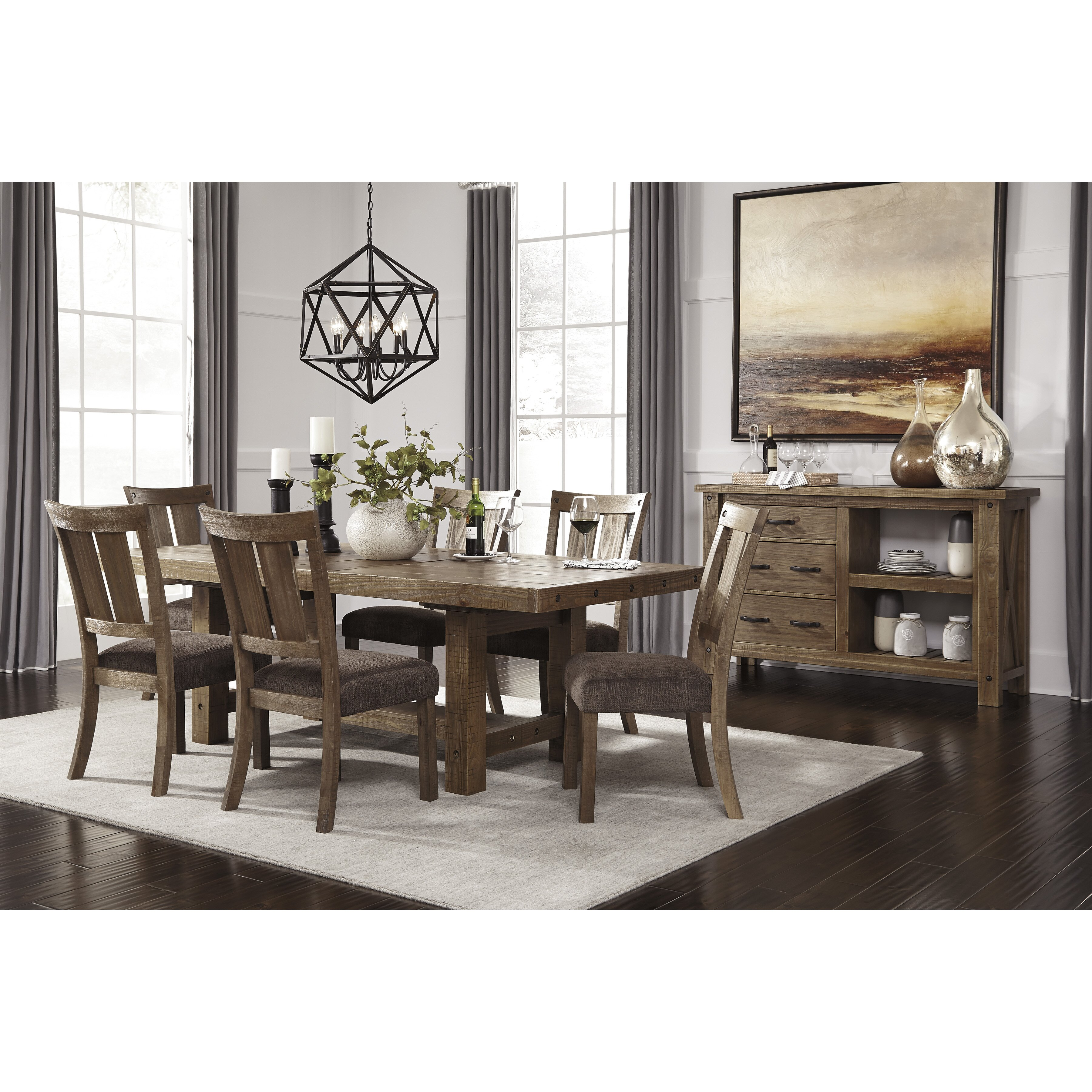 Ashley Dining Tables: Signature Design By Ashley Extendable Dining Table