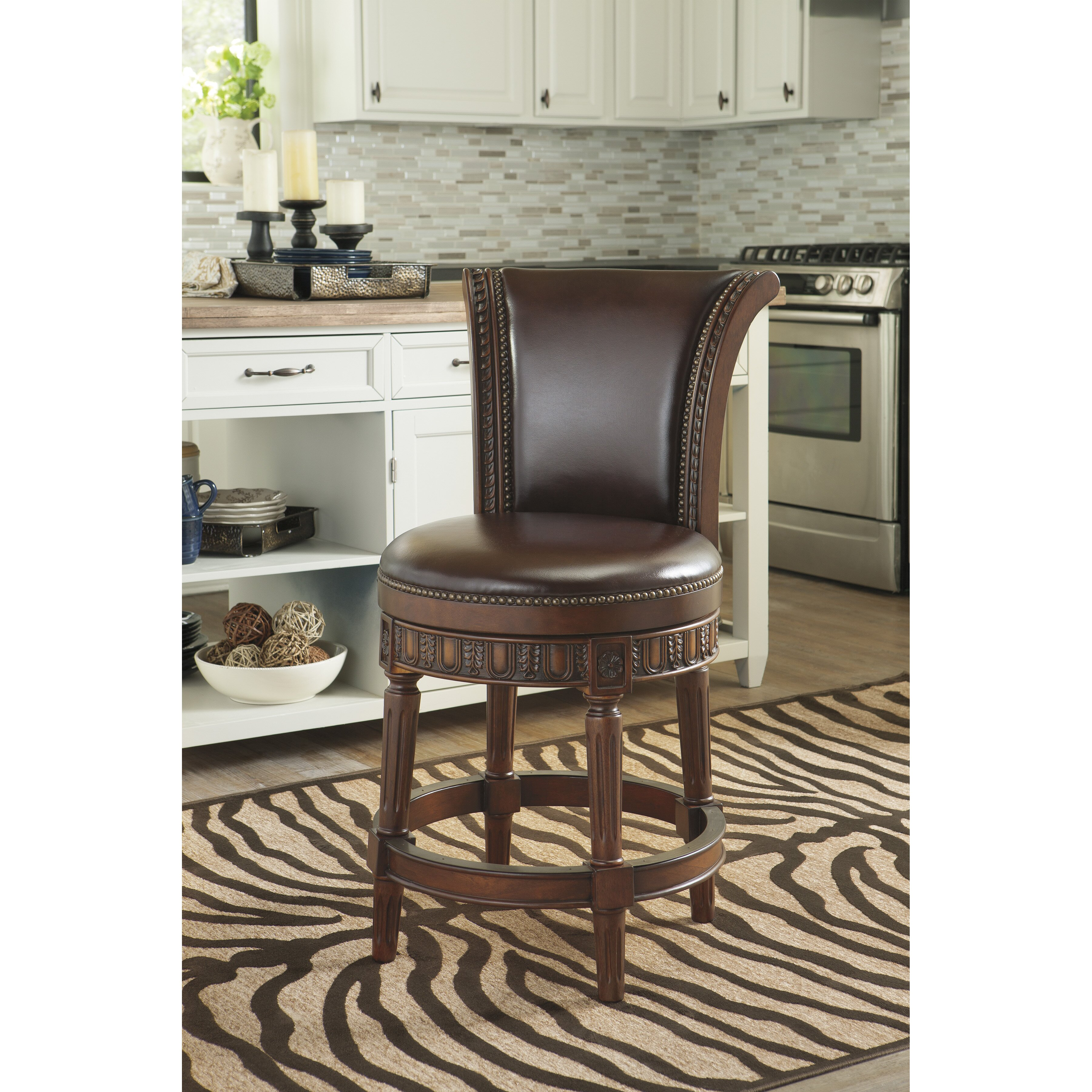 Signature Design By Ashley Swivel Bar Stool Amp Reviews