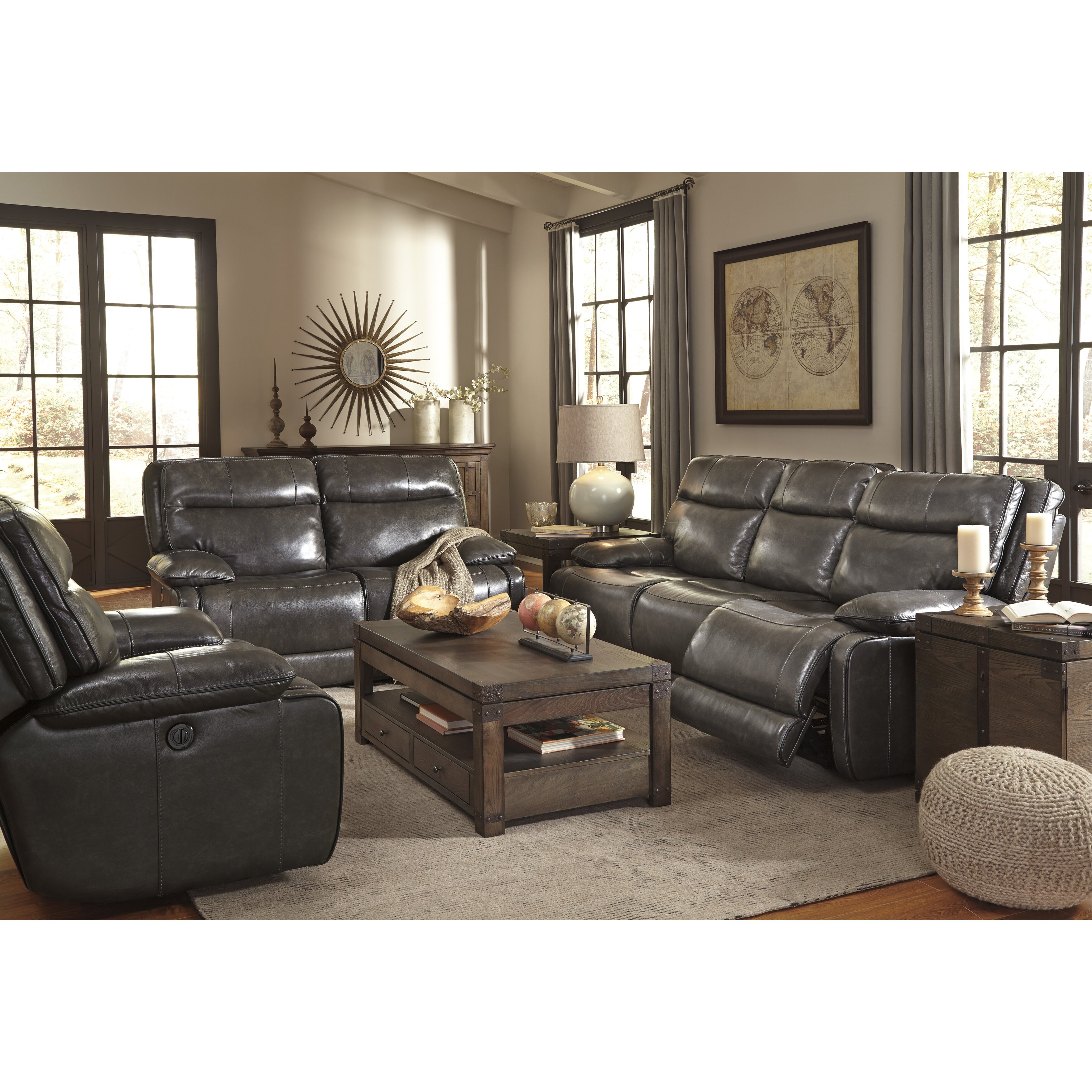 Signature design by ashley living room collection wayfair for Living room ideas ashley furniture