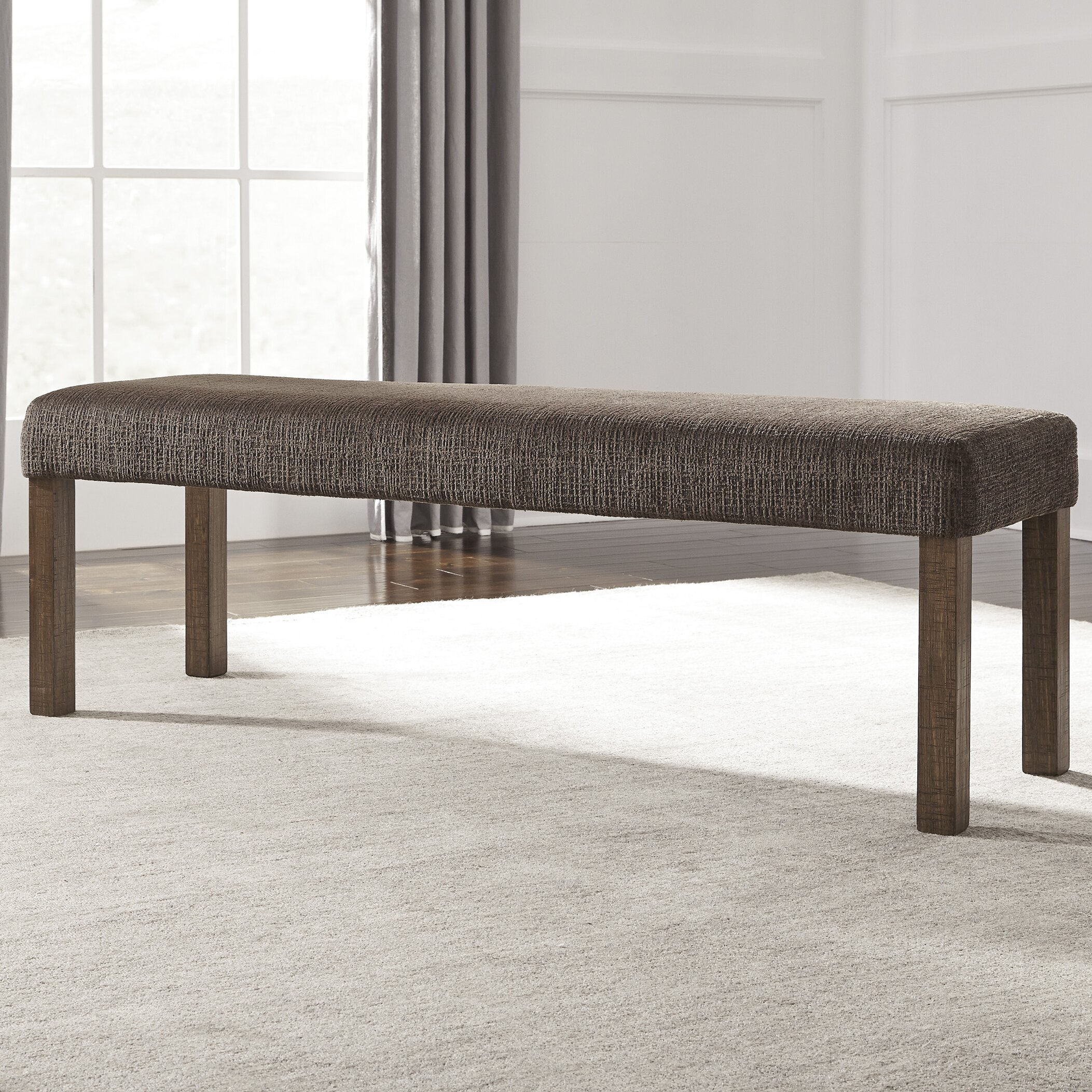 Signature Design By Ashley Upholstered Kitchen Bench