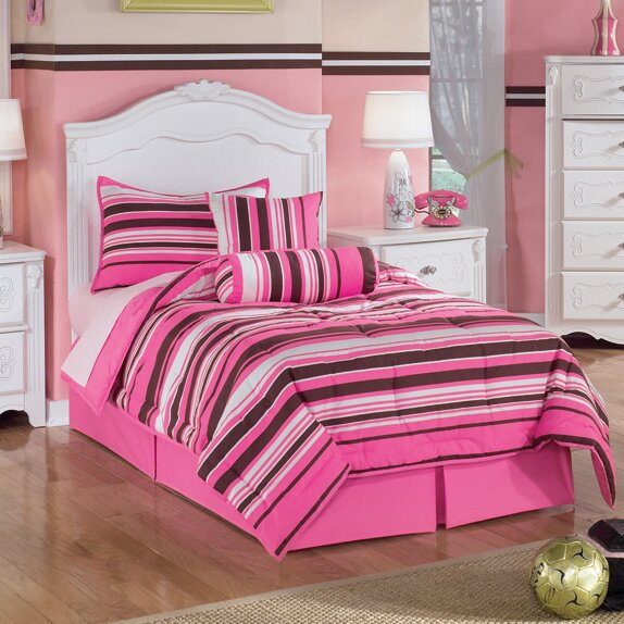 Exquisite Poster Bedroom Set From Ashley Asl B188 71 82n: Signature Design By Ashley Exquisite Four Poster Bed