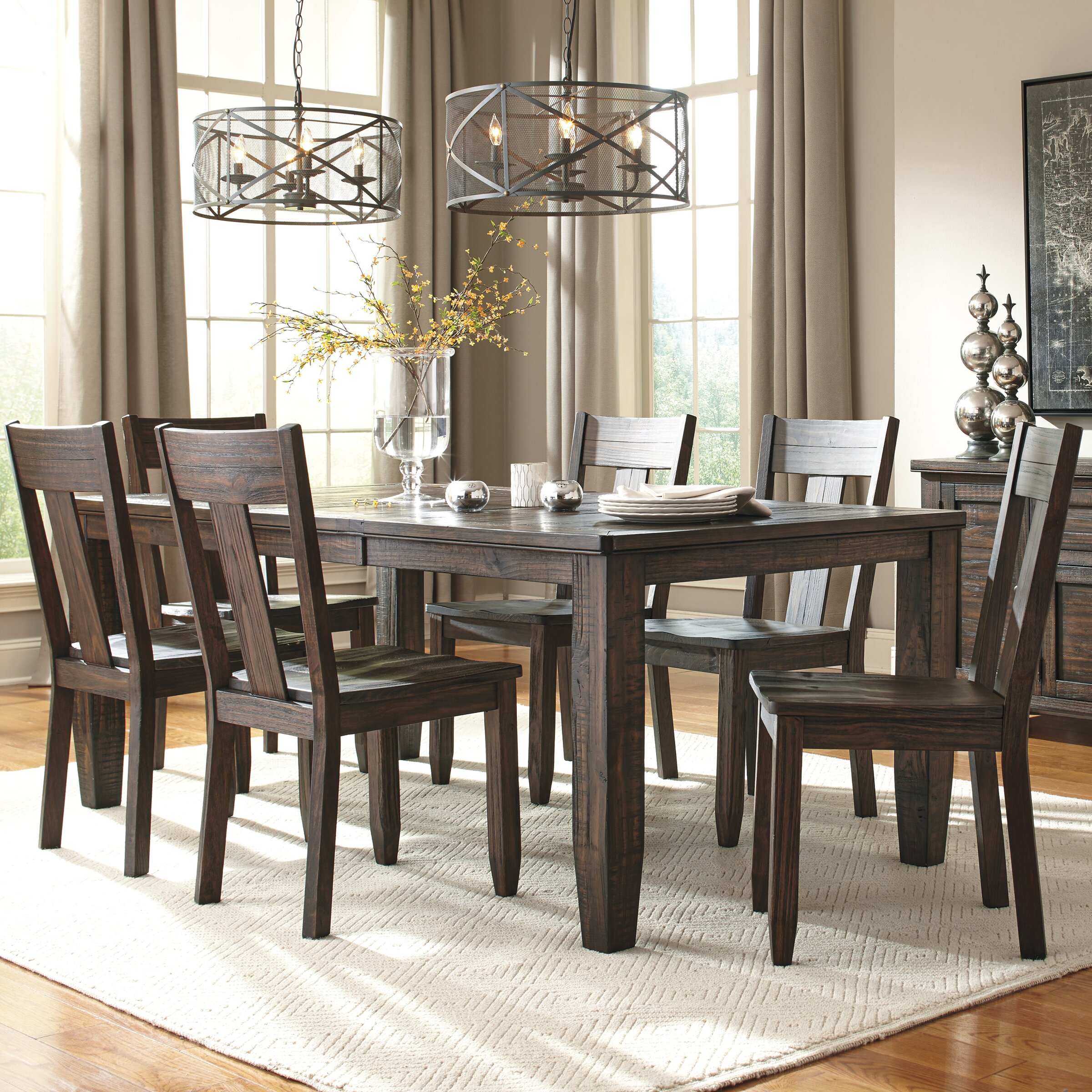 Signature Design By Ashley Trudell 7 Piece Dining Set