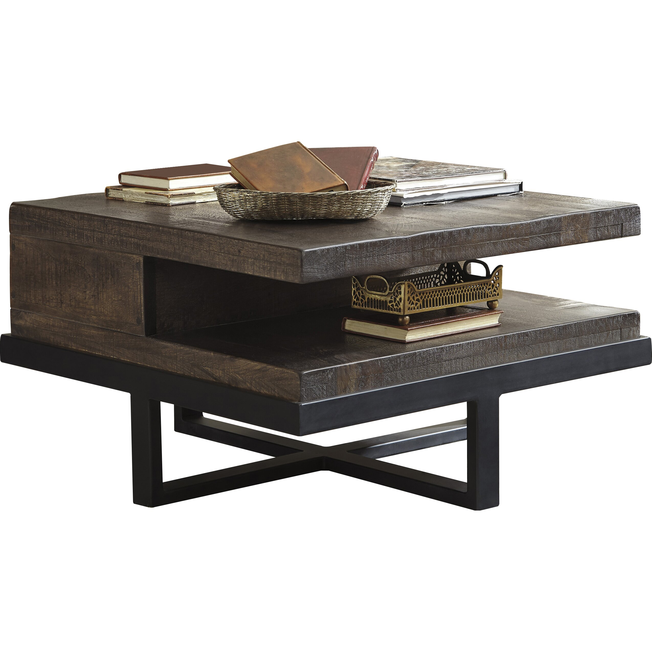 Signature Design By Ashley Vendo Coffee Table Reviews Wayfair