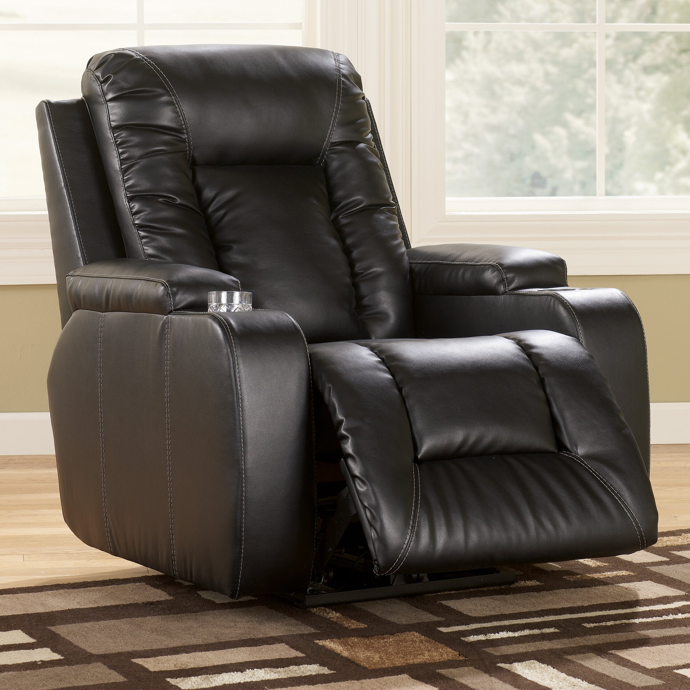 Signature design by ashley palo recliner reviews wayfair for Ashley chaise recliner