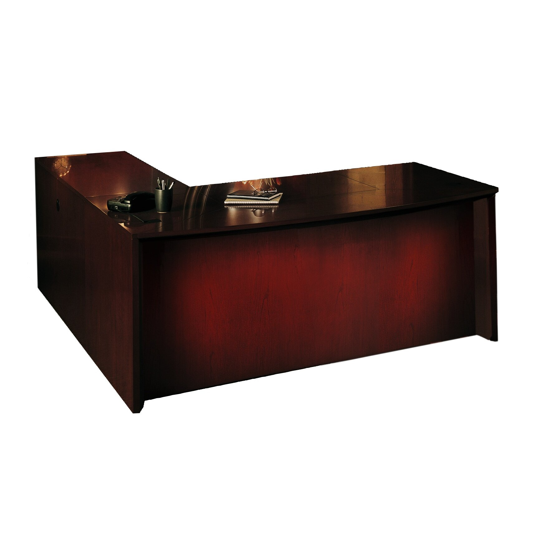 Mayline Corsica Series Executive Desk Wayfair