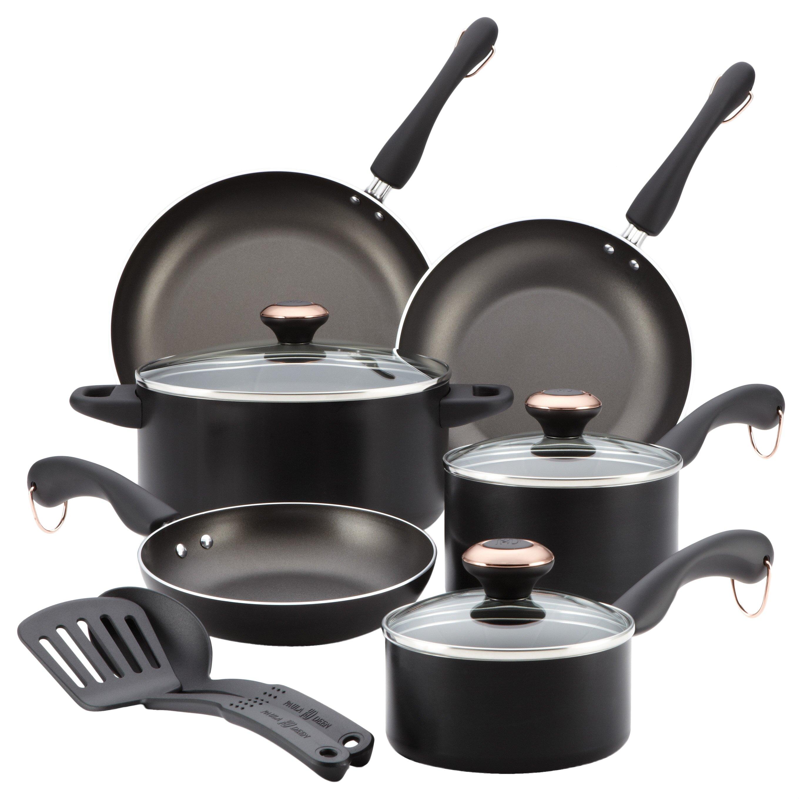 Paula Deen Signature 11 Piece Cookware Set Reviews Wayfair