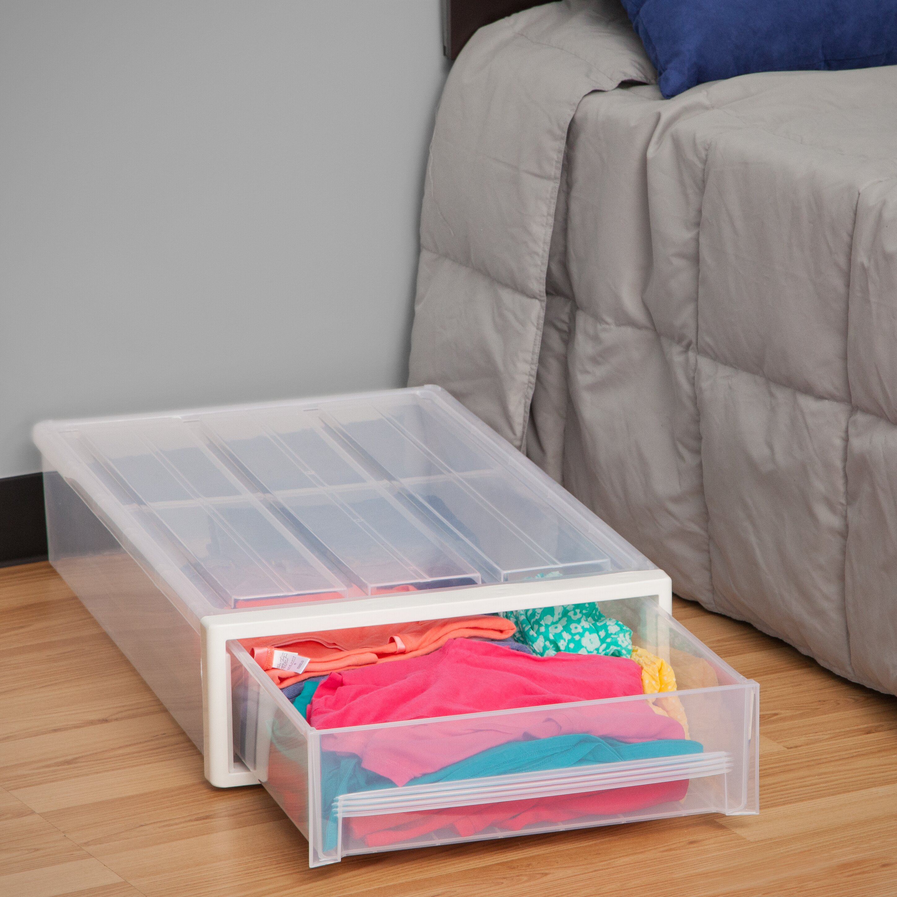 Iris Underbed Storage Drawer Amp Reviews Wayfair