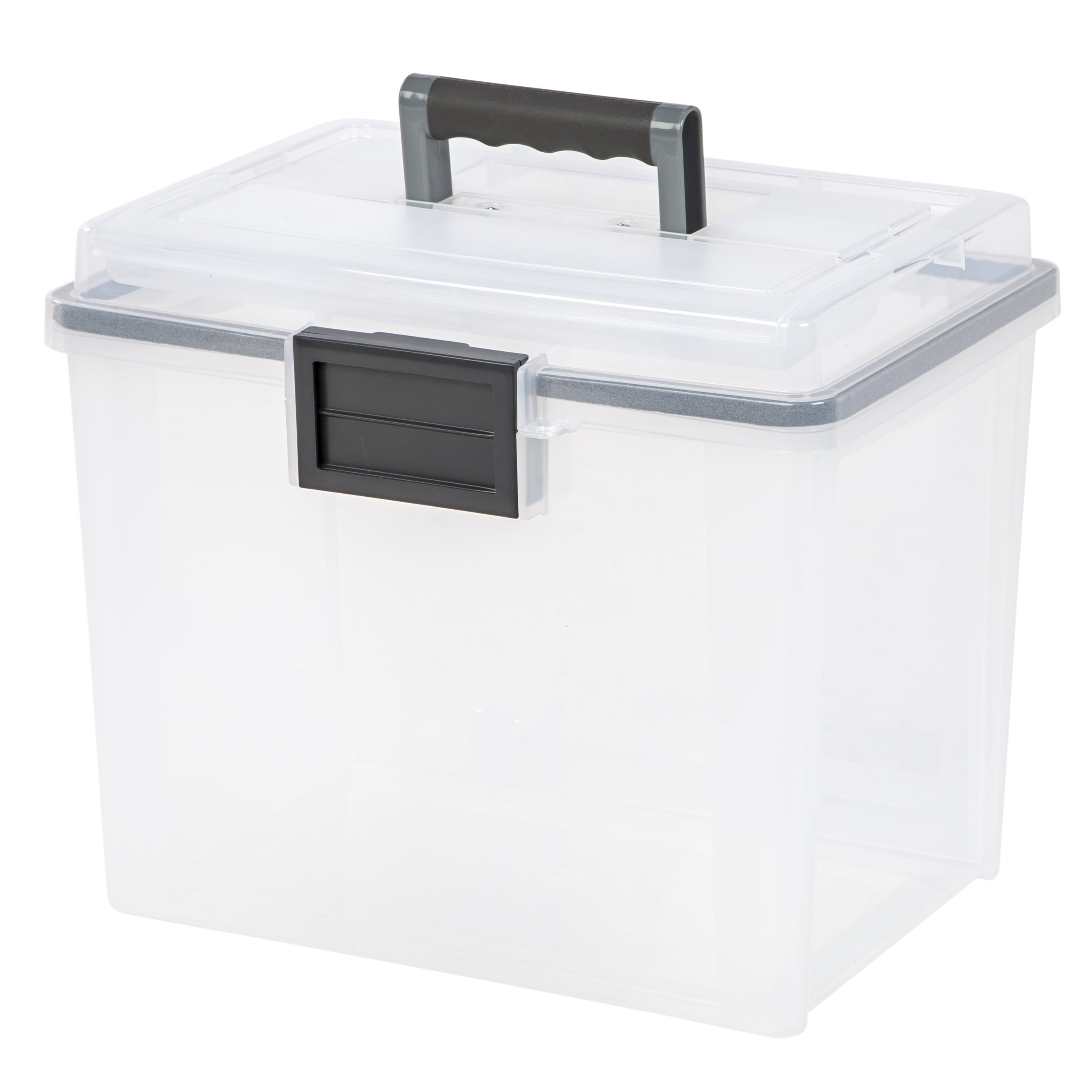 iris letter size portable weathertight file box reviews With letter size portable file box