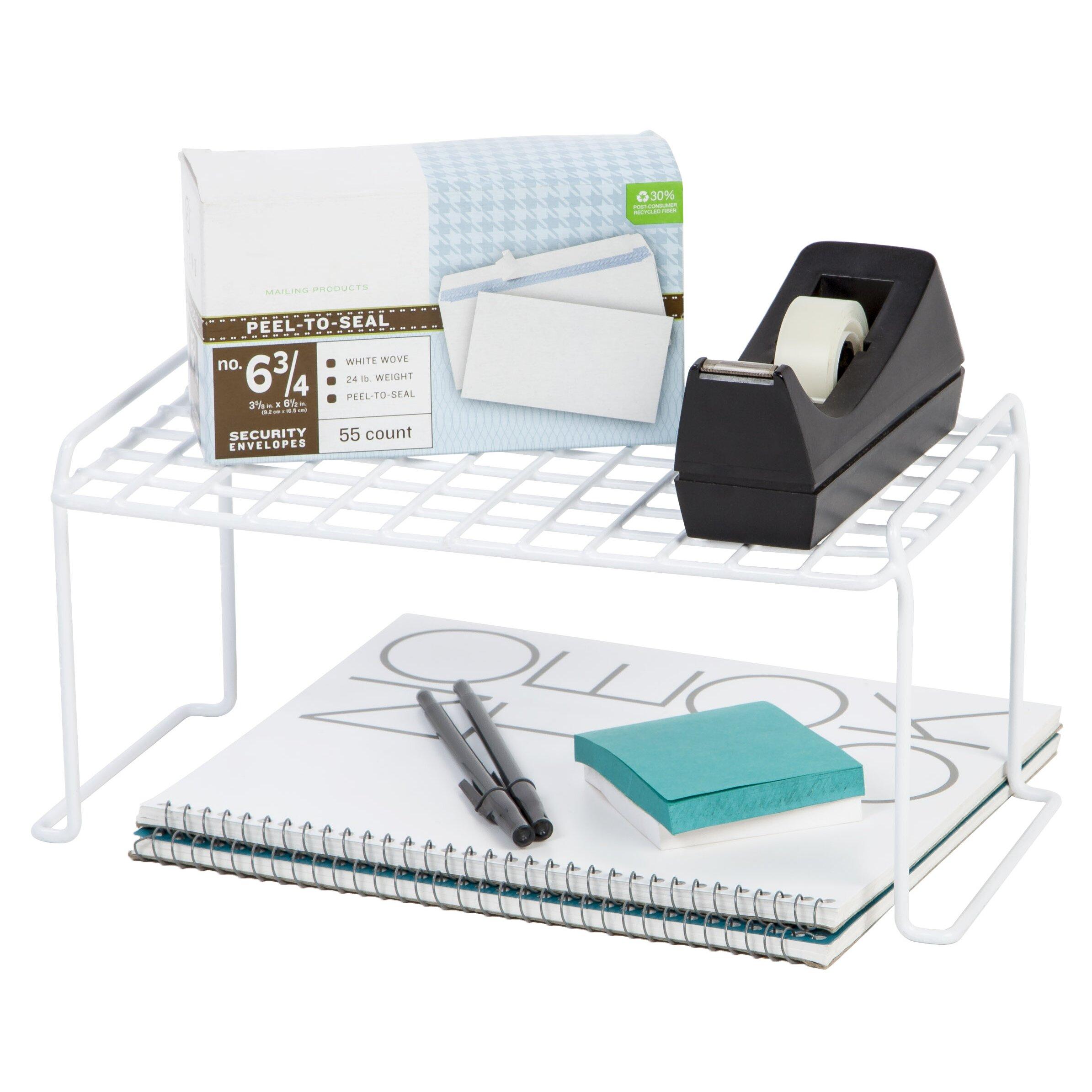 iris small stacking shelf shelving unit reviews. Black Bedroom Furniture Sets. Home Design Ideas