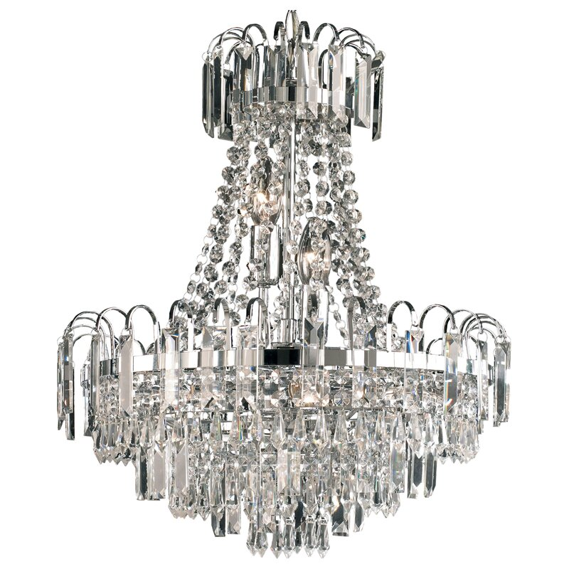 Endon Lighting Amadis 6 Light Crystal Chandelier Amp Reviews