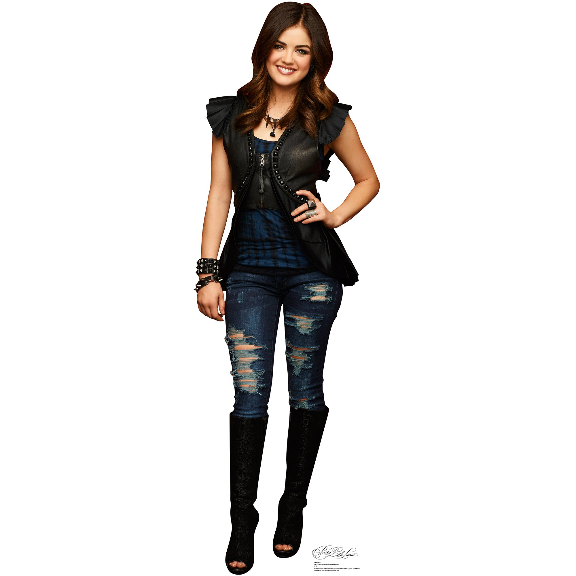 Advanced Graphics Pretty Little Liars Aria Montgomery Cardboard Standup & Reviews | Wayfair