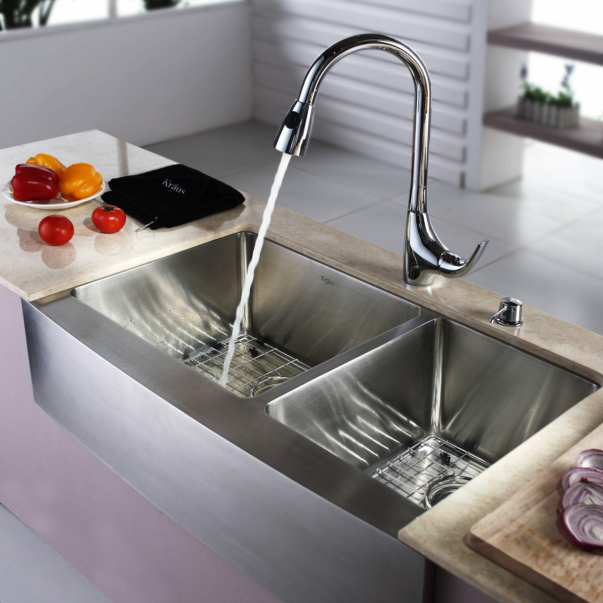32 Farmhouse Sink : 32.88