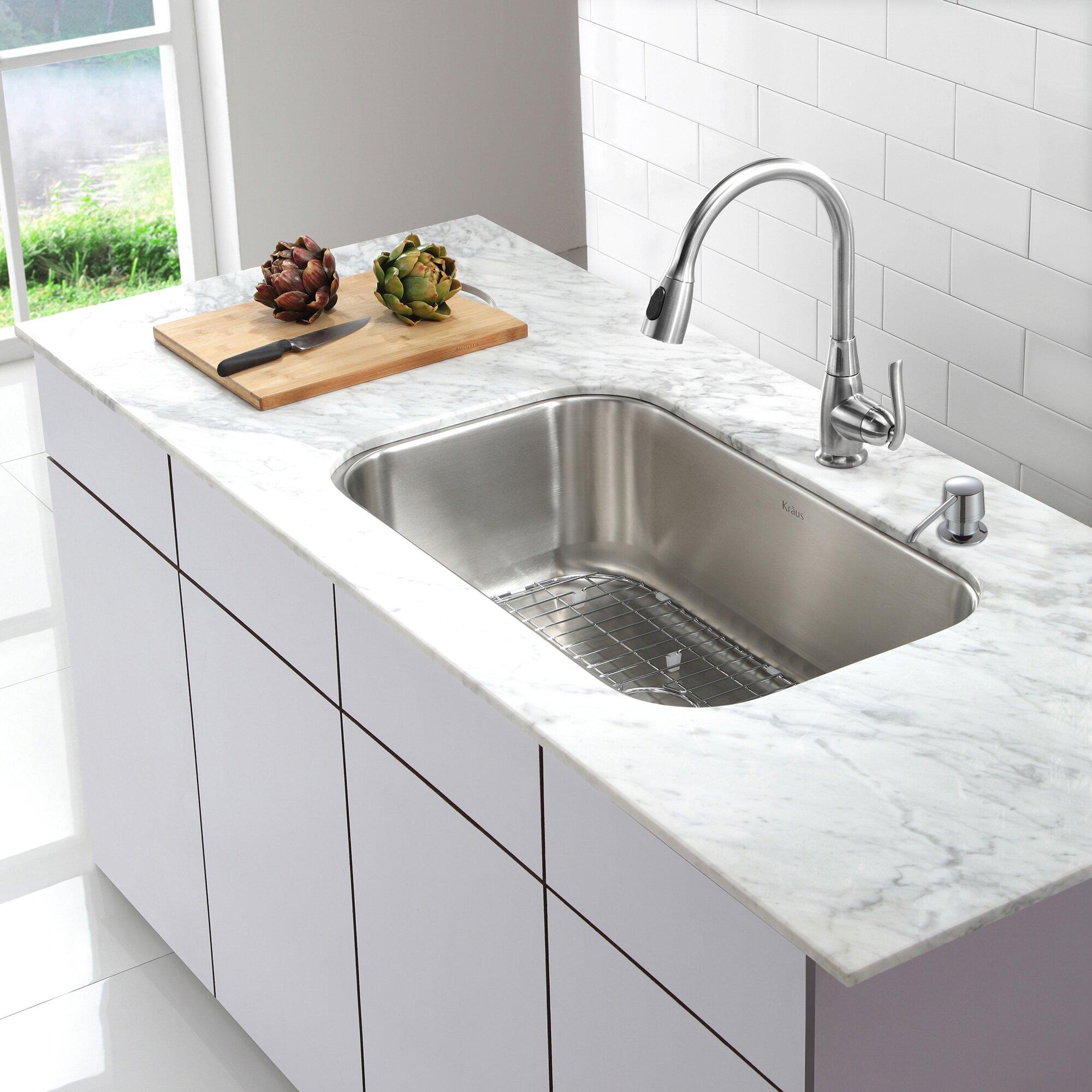 kraus one handle single hole kitchen faucet amp reviews kraus oletto single handle kitchen faucet amp reviews