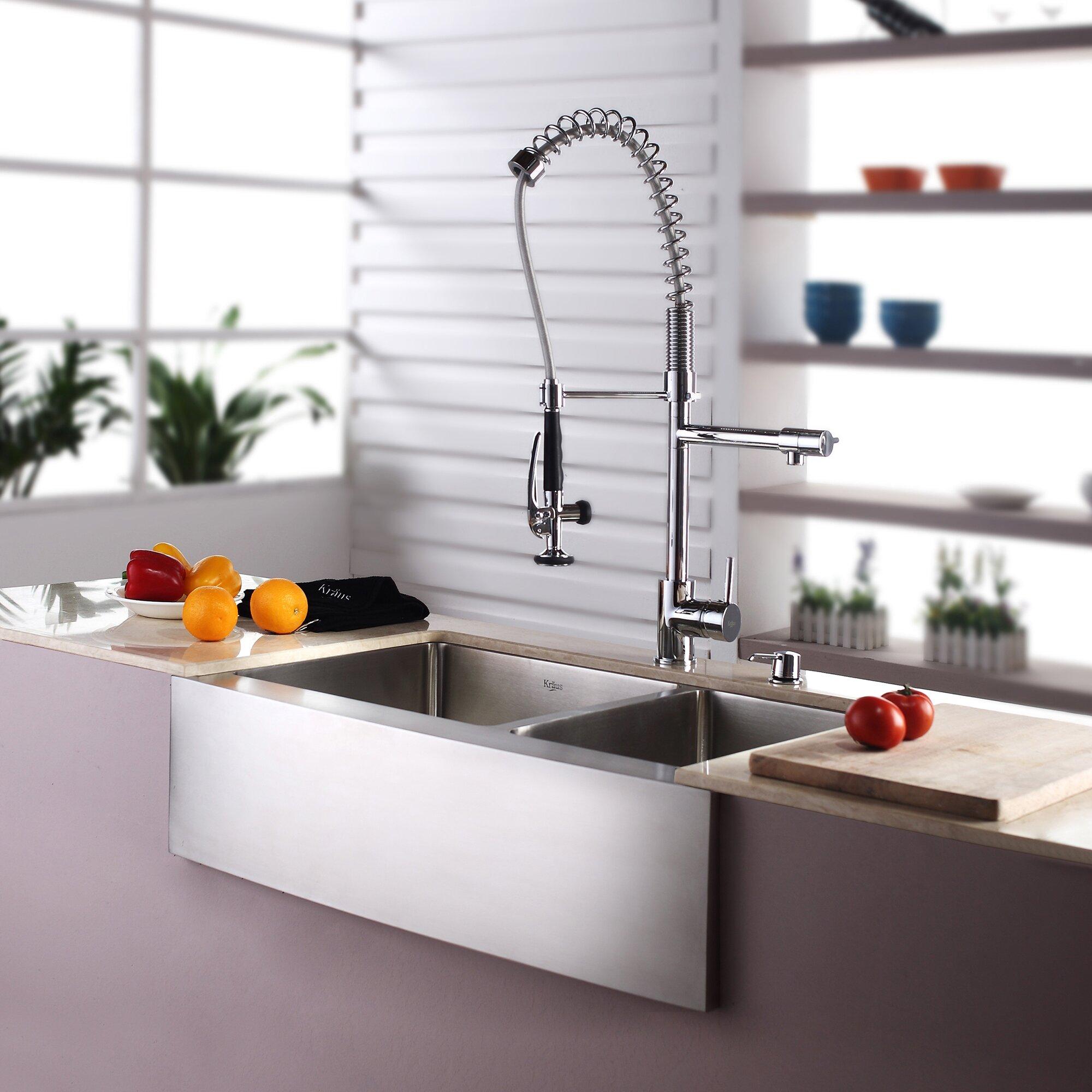 Kraus Kitchen Sink Reviews : Kraus Farmhouse 33