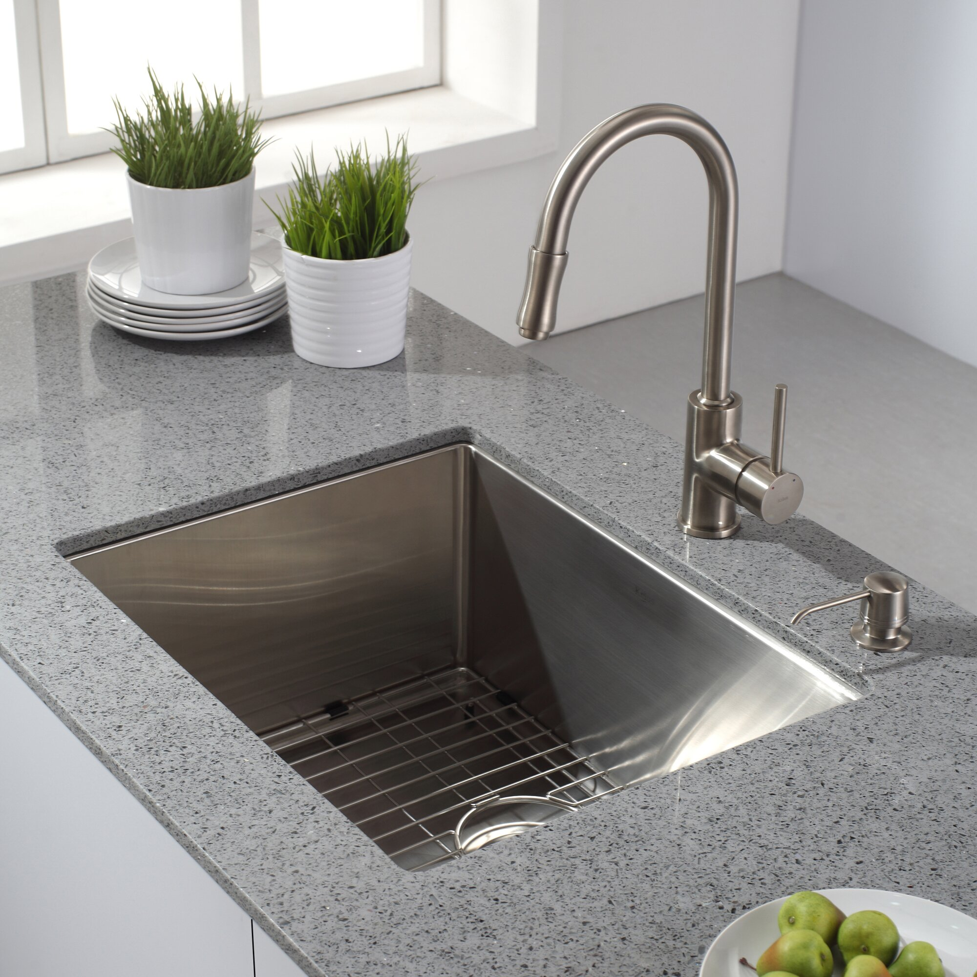 X  Undermount Kitchen Sink