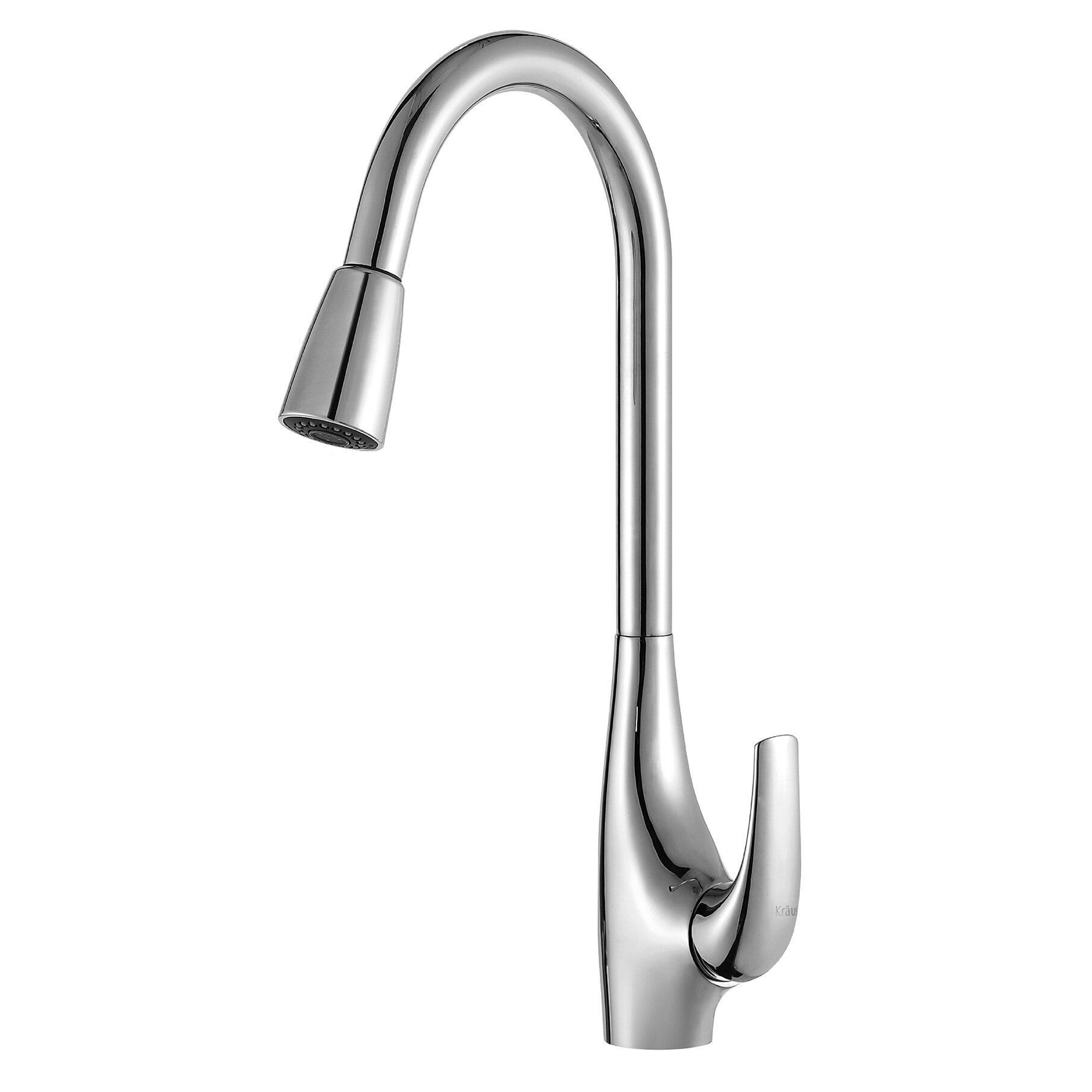 Kraus Faucets Reviews : Kraus Single Handle Single Hole Kitchen Faucet with Lever Handle ...
