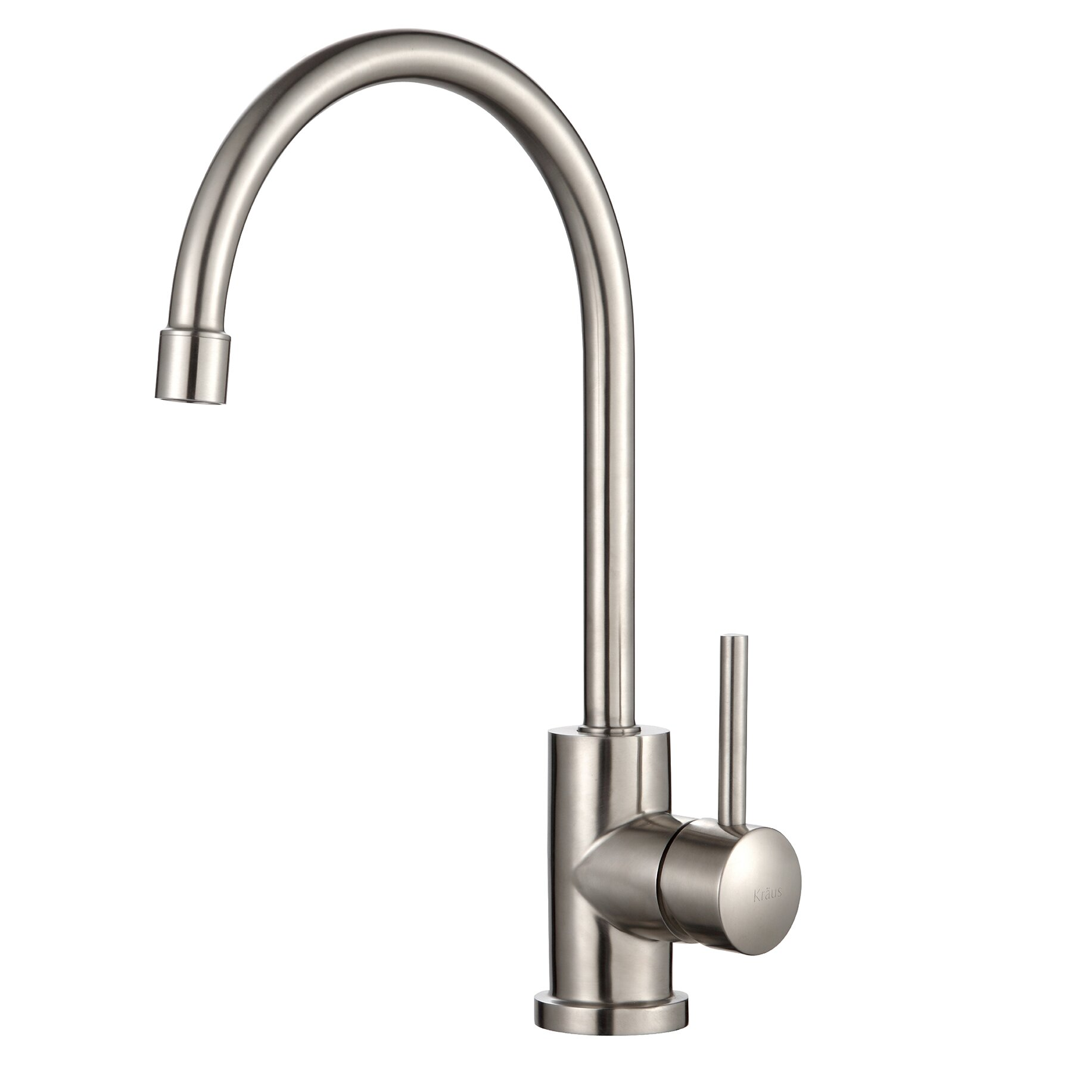 Kraus One Handle Single Hole Kitchen Faucet & Reviews Wayfair