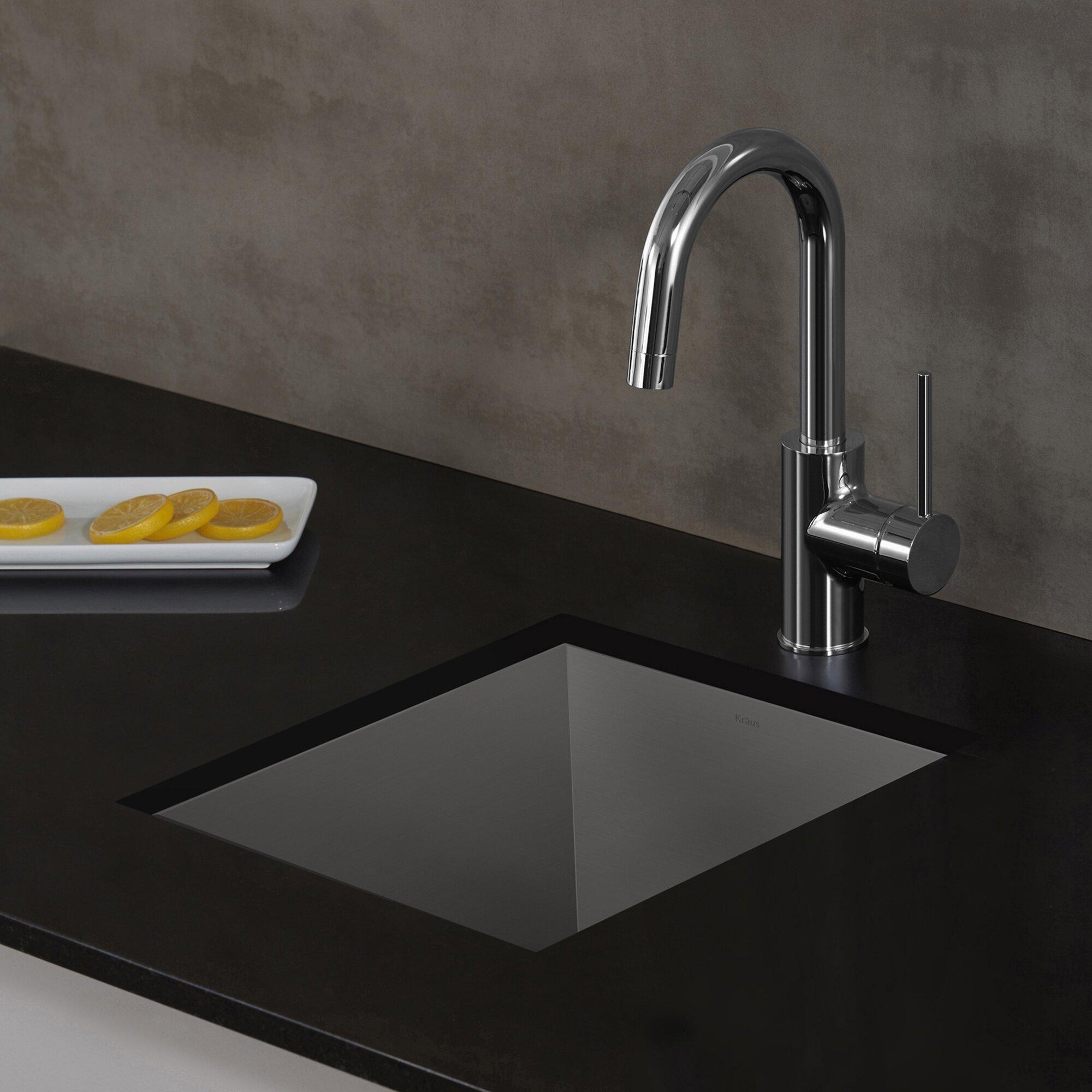 Kraus Oletto Single Lever Kitchen Bar Faucet Reviews Wayfair