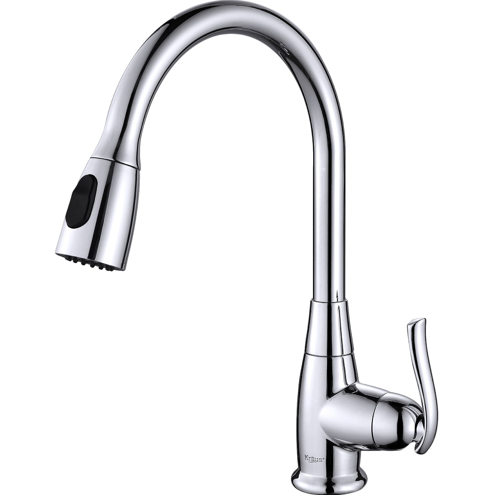 kraus kitchen faucets reviews kraus one handle single hole kitchen faucet reviews wayfair 1536