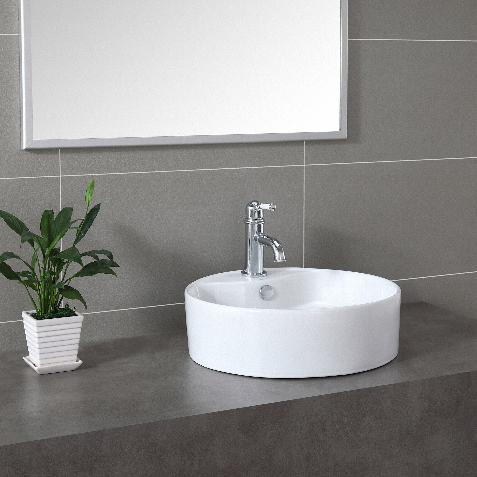 Kraus Ceramic Round Sink & Reviews