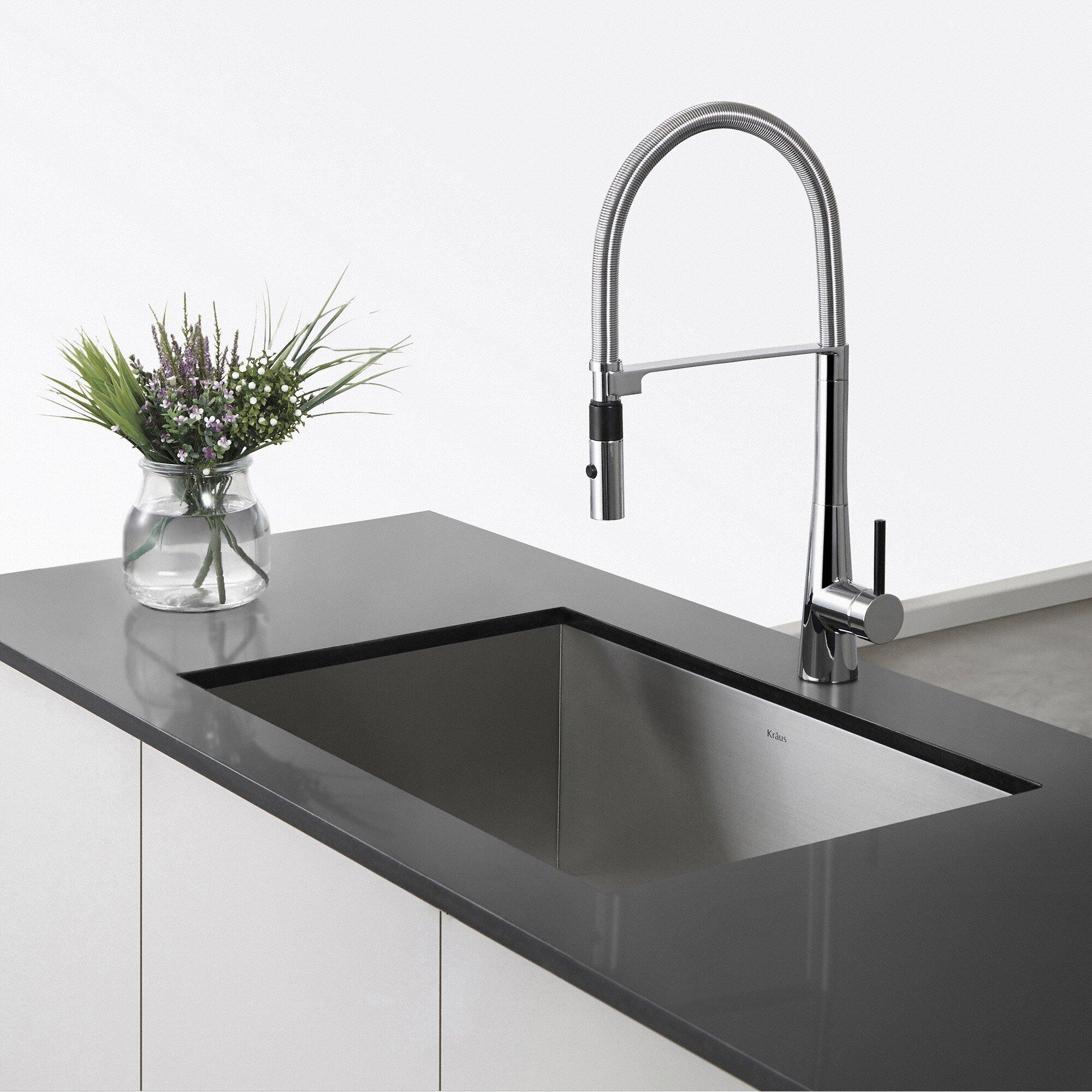Handmade Stainless Steel Sink : ... Handmade Undermount Single Bowl Stainless Steel Kitchen Sink & Reviews