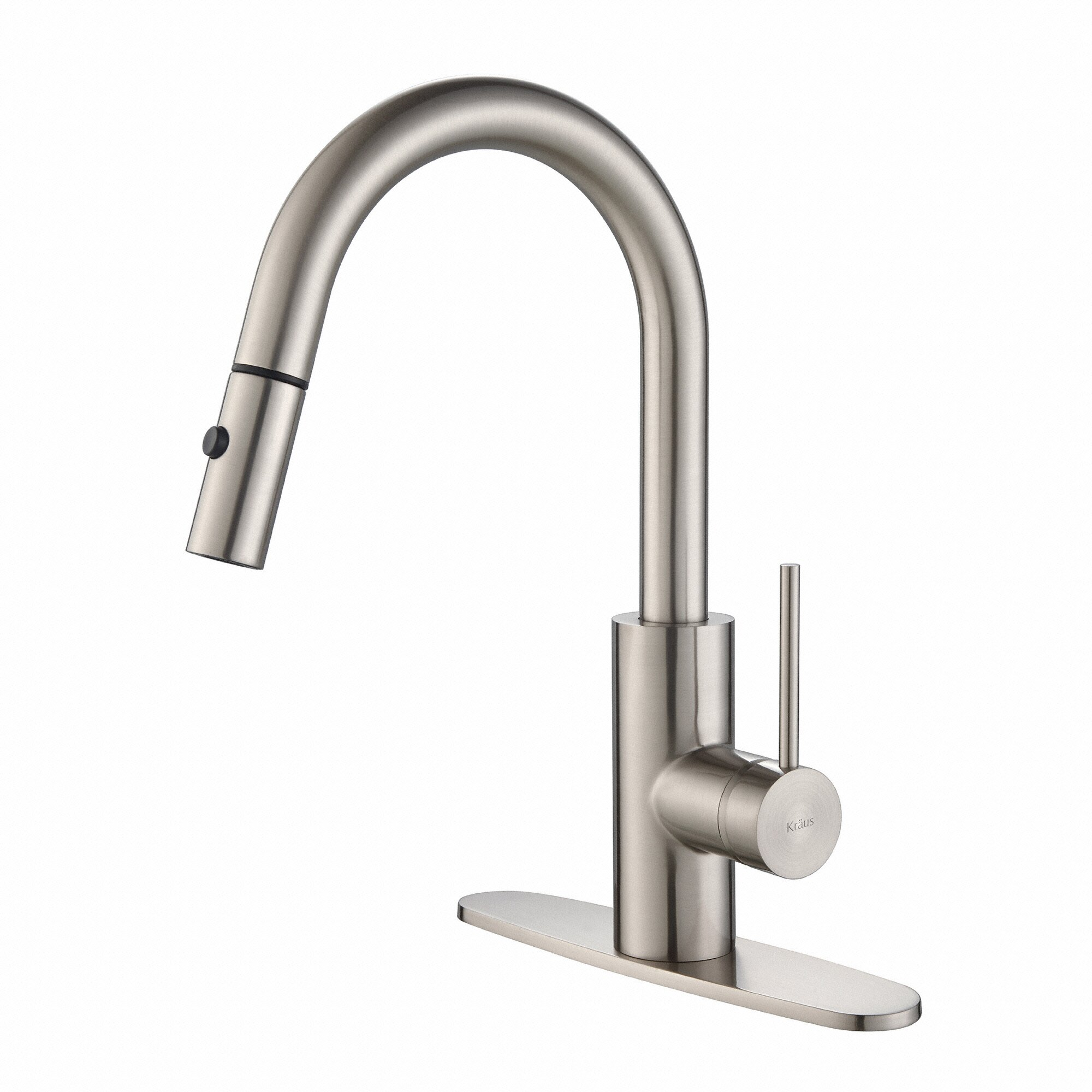 Kraus Faucets Reviews : Kraus Mateo? Single Lever Pull Down Kitchen Faucet & Reviews ...