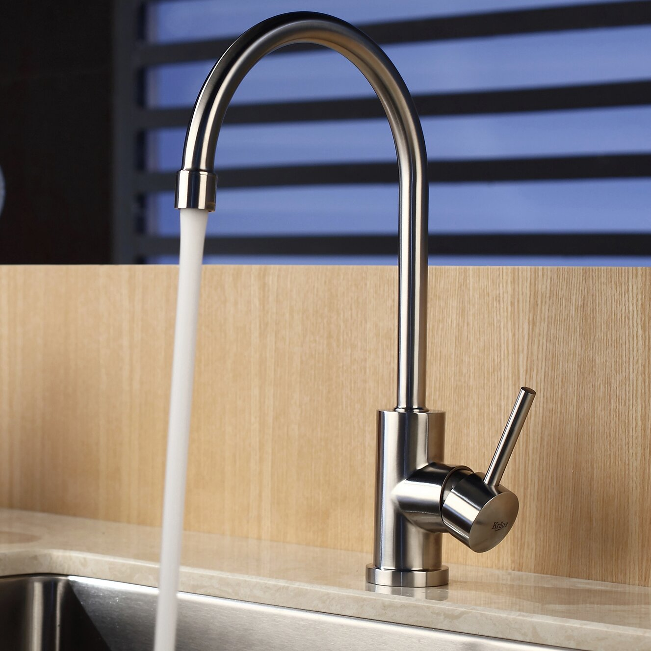 kraus one handle single hole kitchen faucet reviews