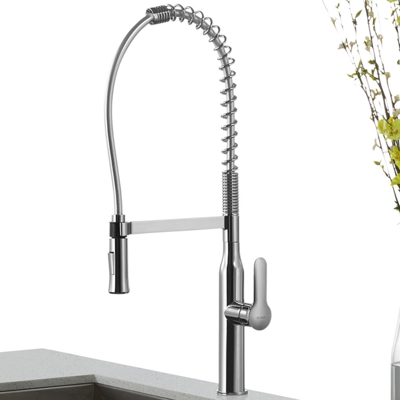 Kraus Nola Single Lever Commercial Style Kitchen Faucet Reviews