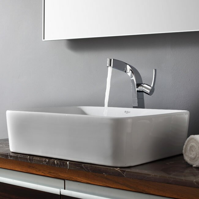 ... Bathroom Combos Single Hole Waterfall Typhon Faucet and Bathroom Sink