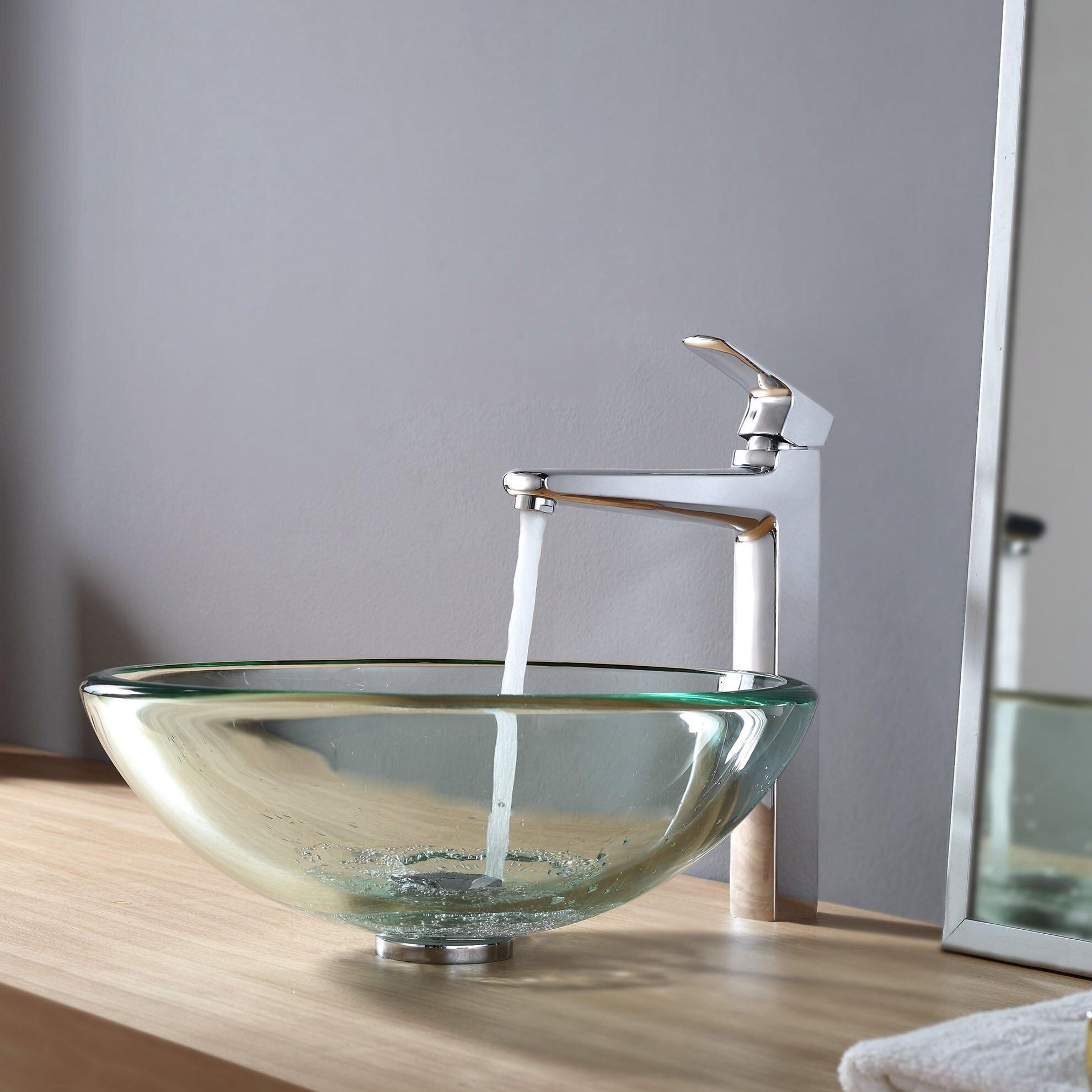 Kraus Sink Reviews : Kraus Vessel Bathroom Sink & Reviews Wayfair